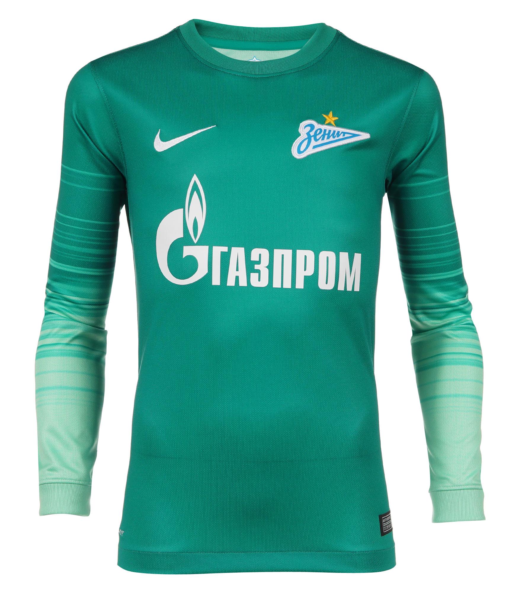 Вратарская подростковая футболка, Цвет-Зеленый, Размер-S