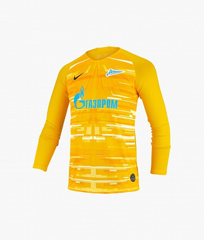 Long-sleeved goalkeeper jersey