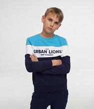 Свитшот для мальчиков «Urban Lions»