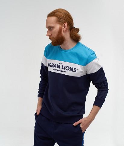 Men's sweatshirt «Urban Lions»
