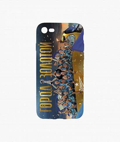 Чехол для IPhone 7/8/SE «Чемпионский автобус» 2020/21