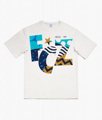 T-shirt oversize Zenit x Karan Singh