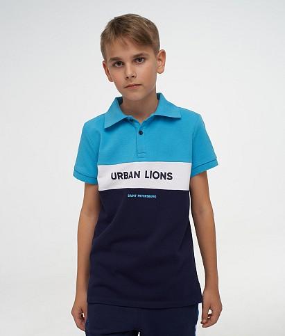 Поло для мальчиков «Urban Lions»