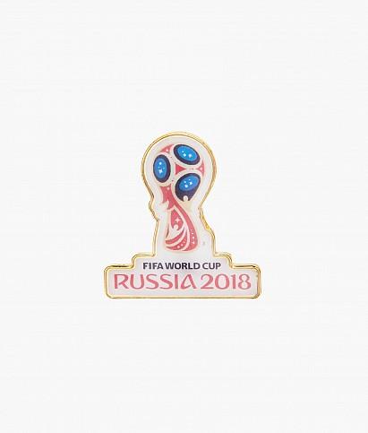 Значок металлический «Эмблема Чемпионат мира 2018»