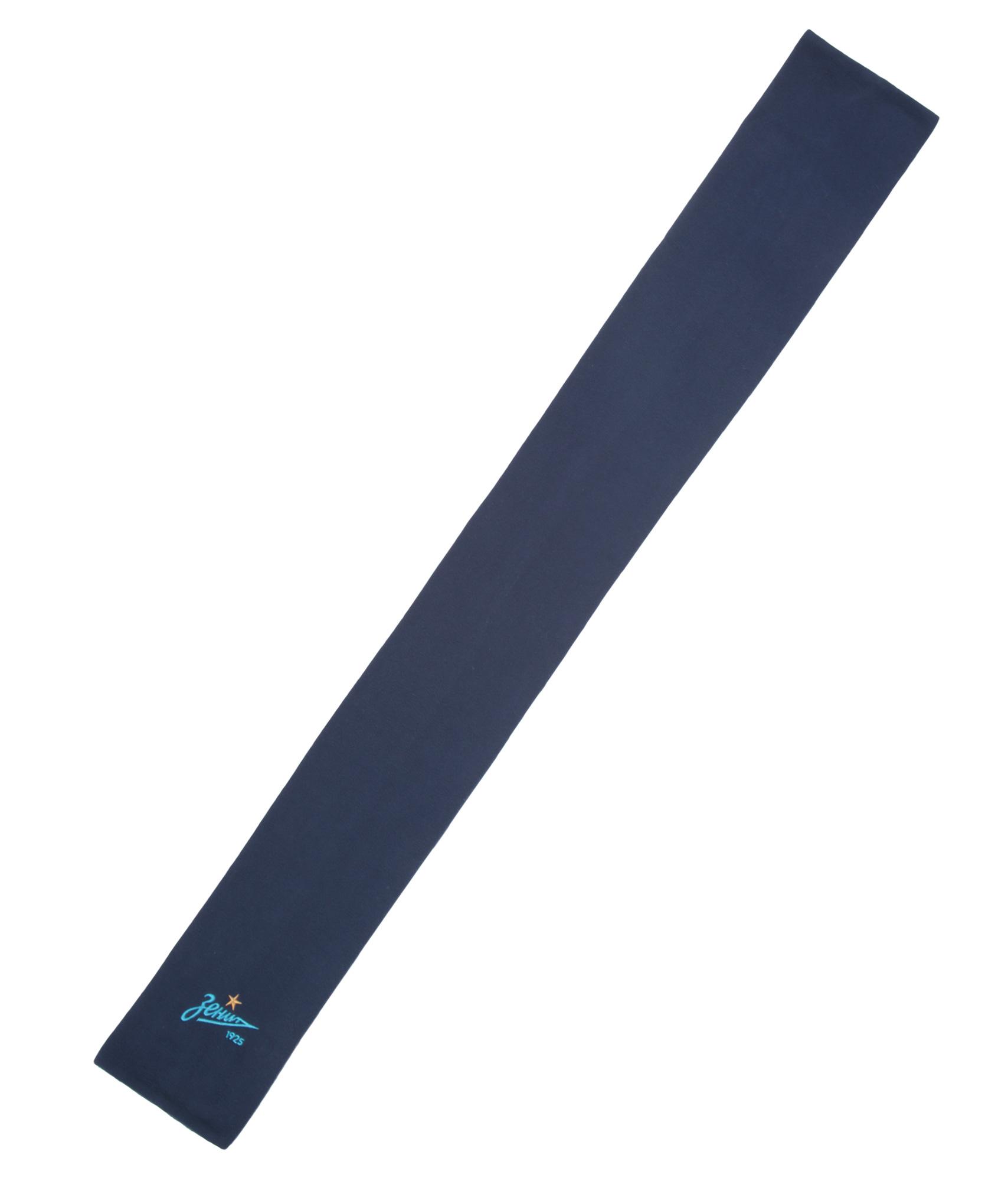 Флисовый шарф Зенит Цвет-Темно-Синий флисовый халат