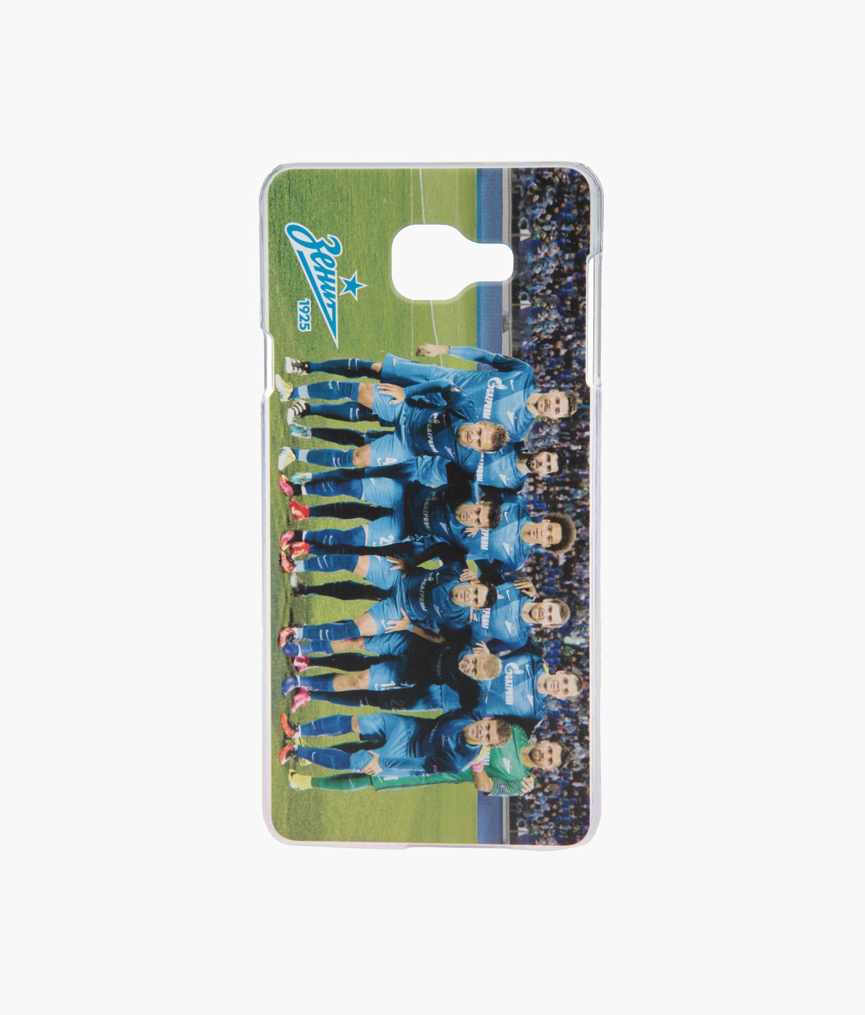 Фото - Чехол Samsung Galaxy A7 Команда 2016/17 Зенит аксессуар чехол neypo для samsung galaxy a10 2019 soft matte silicone dark blue nst11681
