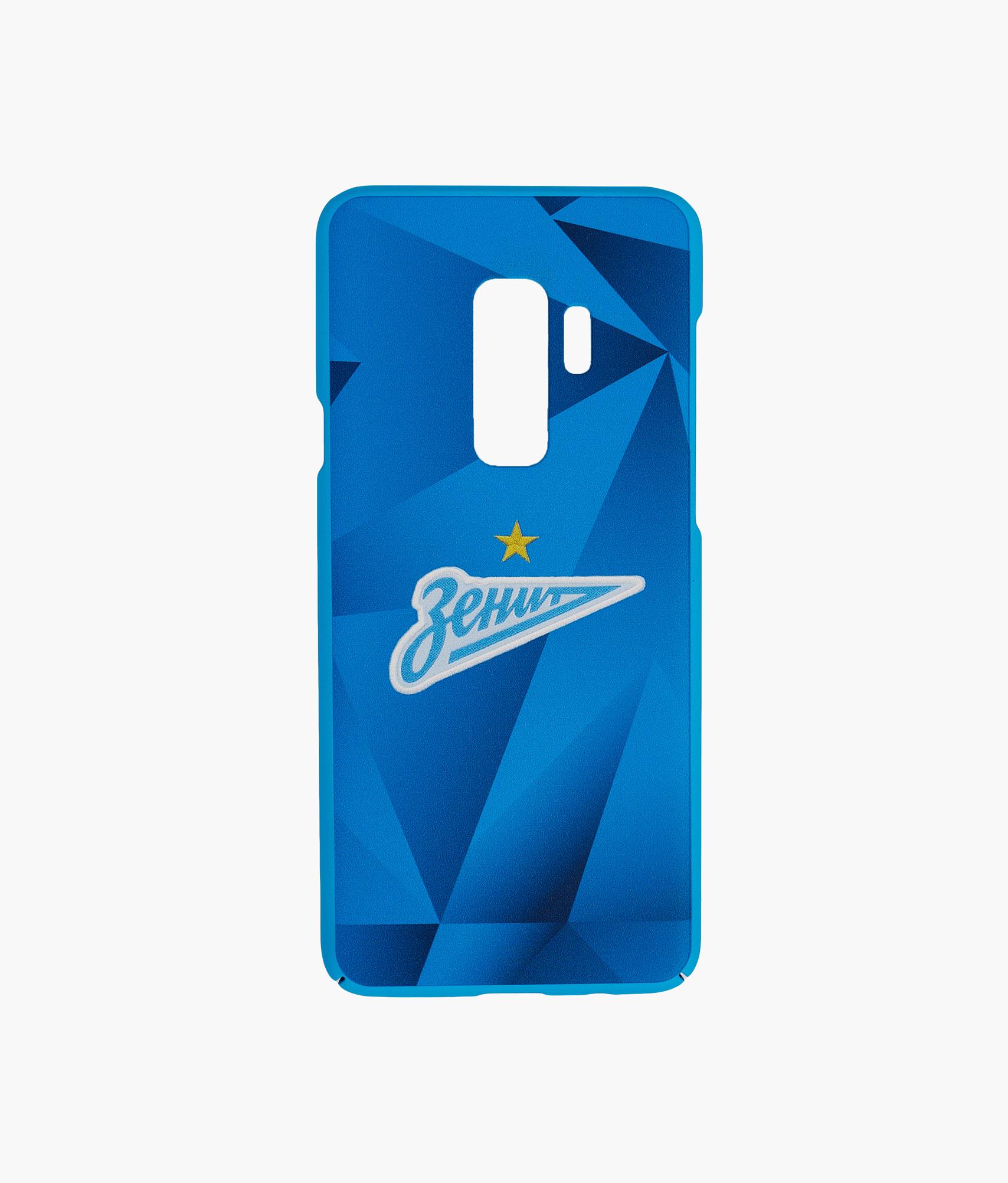 Фото - Чехол для Samsung Galaxy S9 Plus «Форма 2019/20» Зенит Цвет-Синий чехол для сотового телефона nillkin samsung a8 2018 чехол книжка sparkle розовый