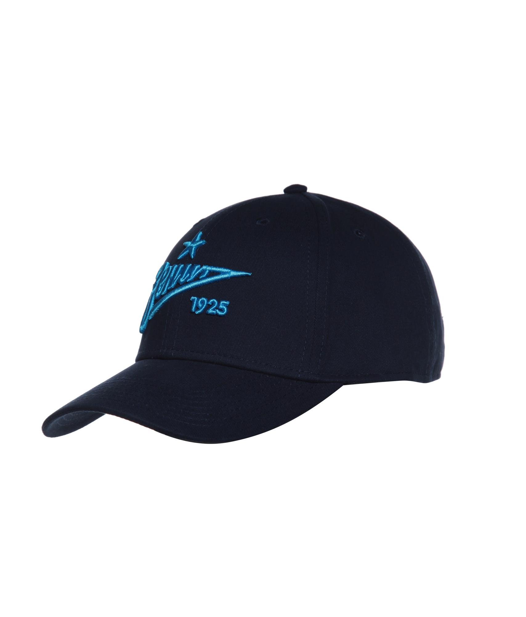 Бейсболка Зенит Зенит Цвет-Темно-Синий бейсболка мужская quiksilver starkness цвет темно синий aqyha04308 bng0 размер универсальный