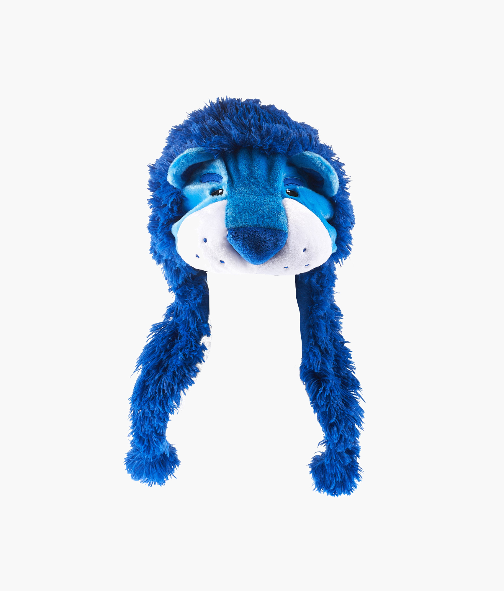 Шапка «Лев» Зенит Цвет-Голубой