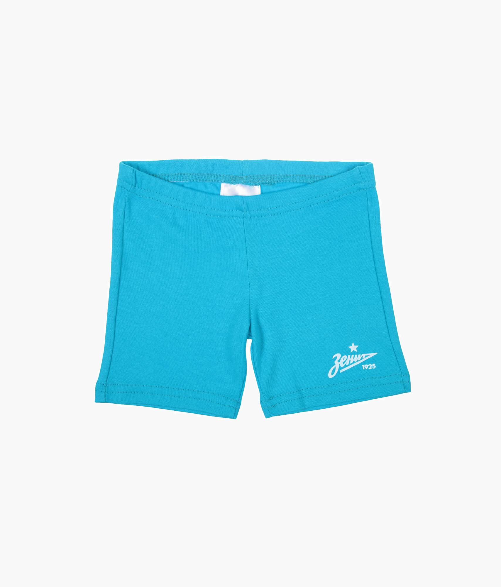 Шорты детские Зенит Цвет-Лазурный шорты детские зенит цвет синий
