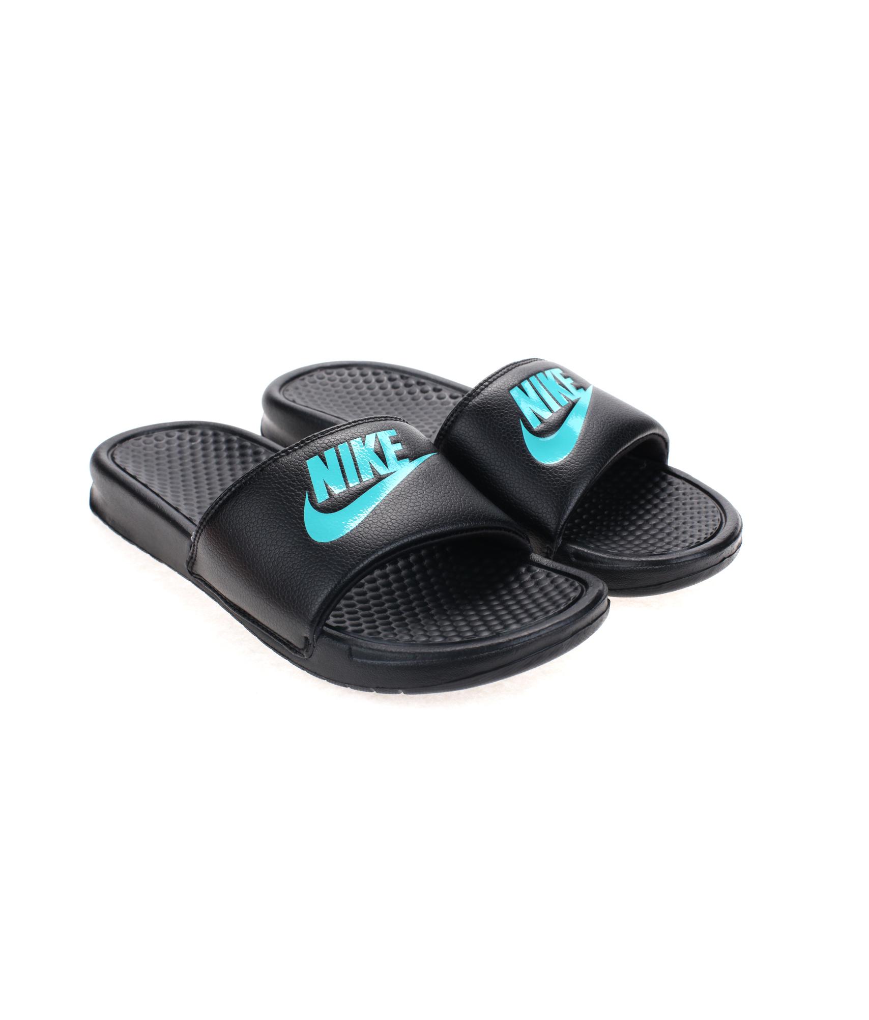 Сандалии Nike BENASSI JDI , Цвет-Черный, Размер-9