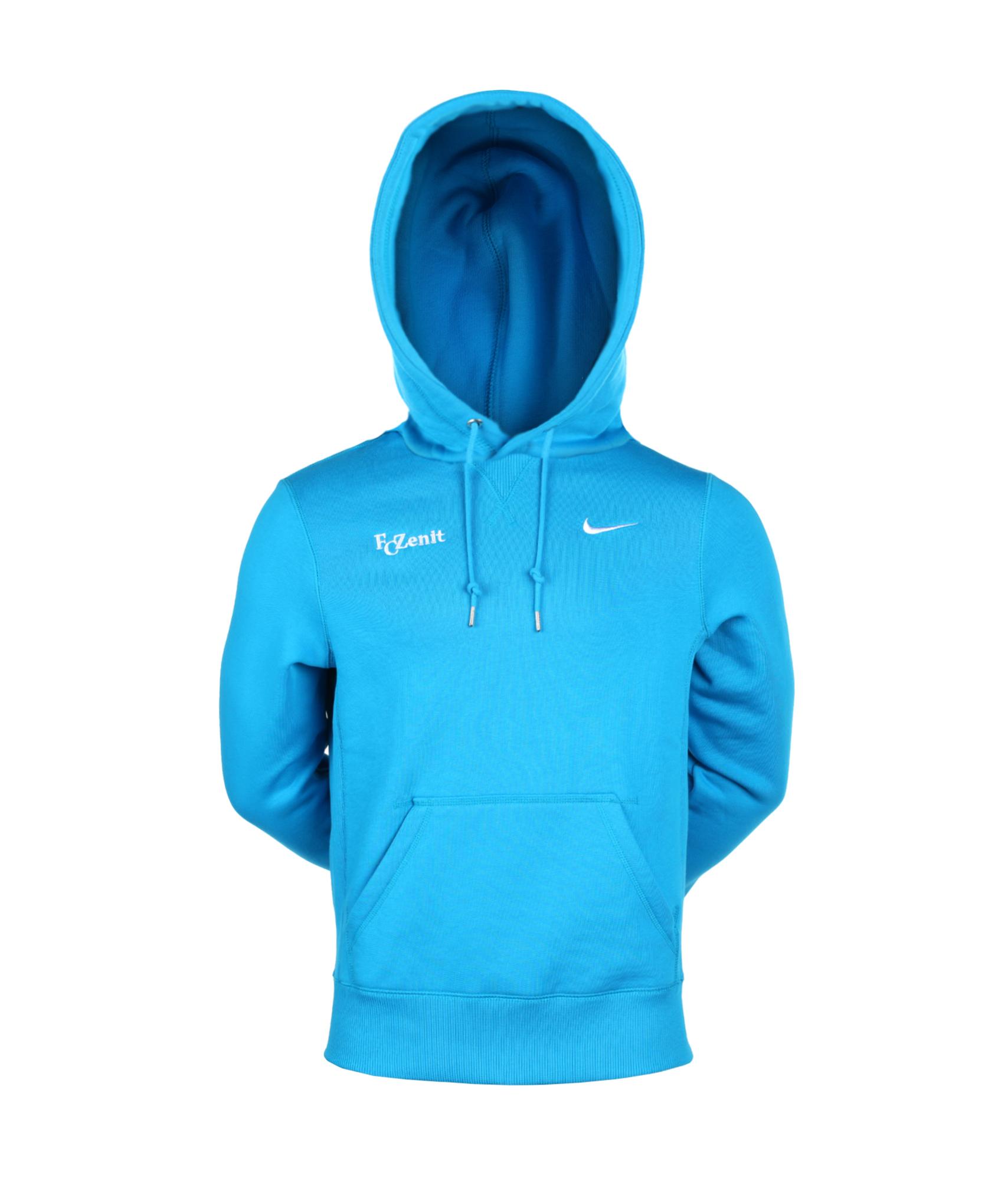 Толстовка Nike Squad Fleece PO Hoody , Цвет-Голубой, Размер-L