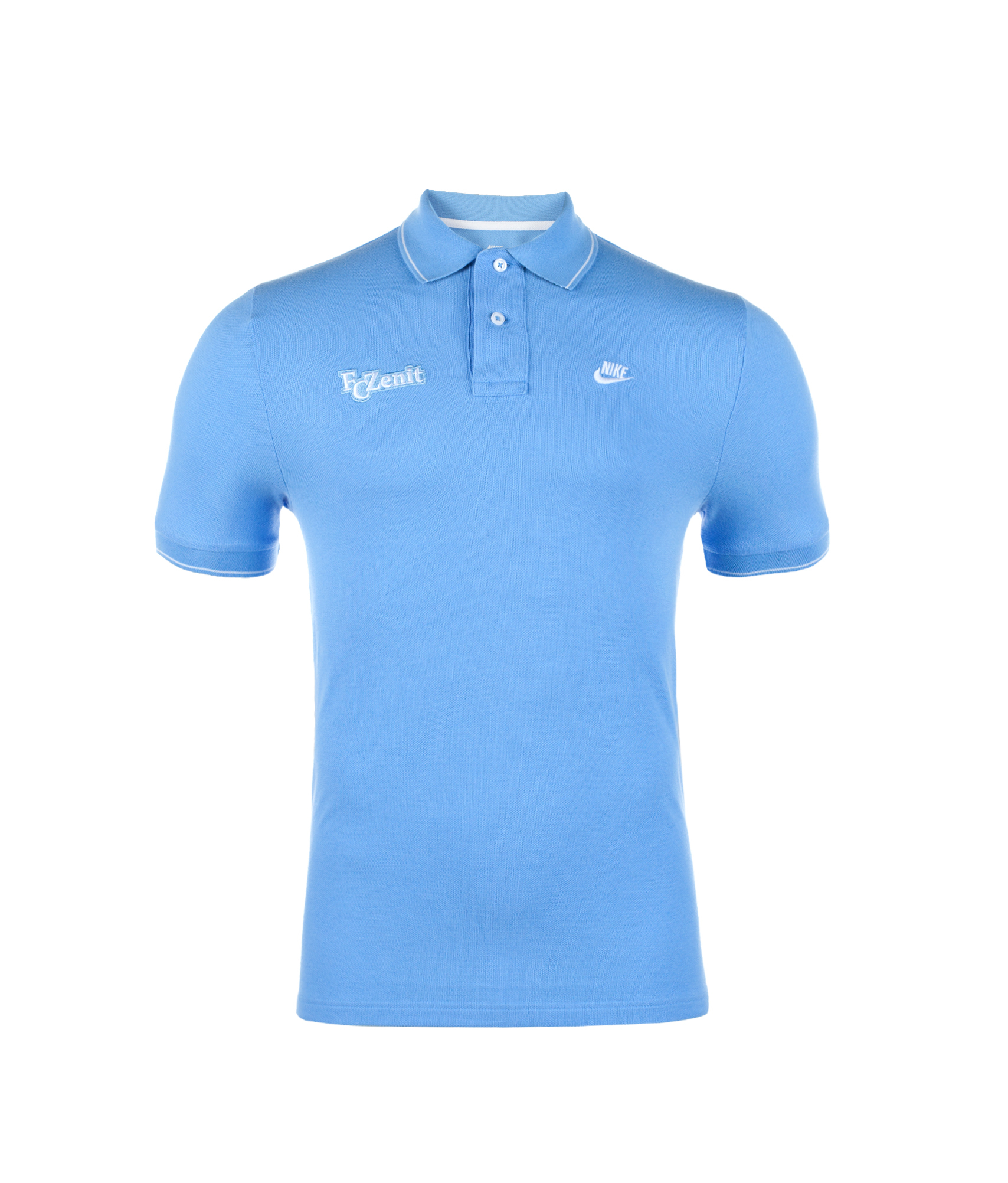 Поло Nike SUMMERIZED TIPPED GS POLO, Цвет-Голубой, Размер-L