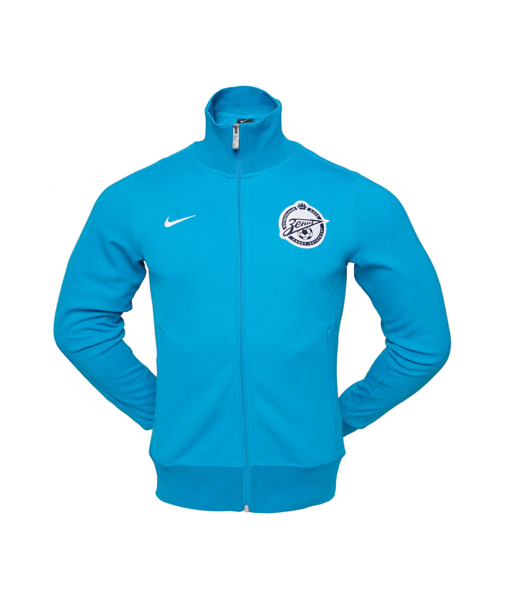 Лазурная олимпийка Nike, Цвет-Синий, Размер-L