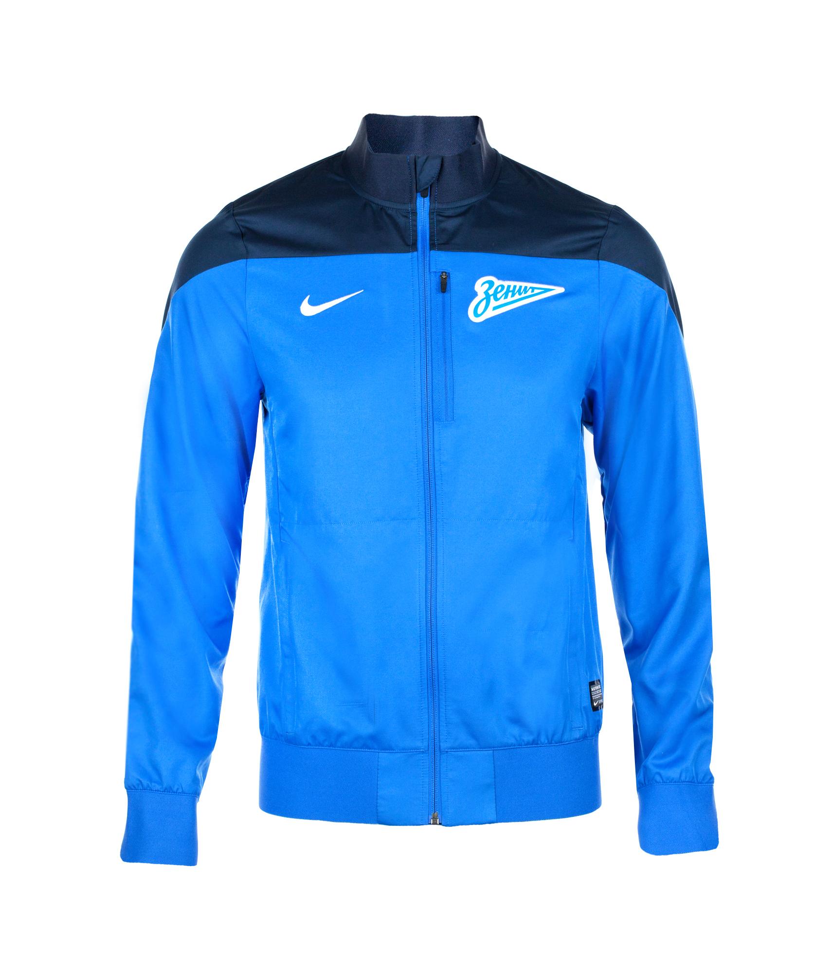 Куртка Nike Zenit Select SDLN WVN JKT, Цвет-Синий, Размер-S