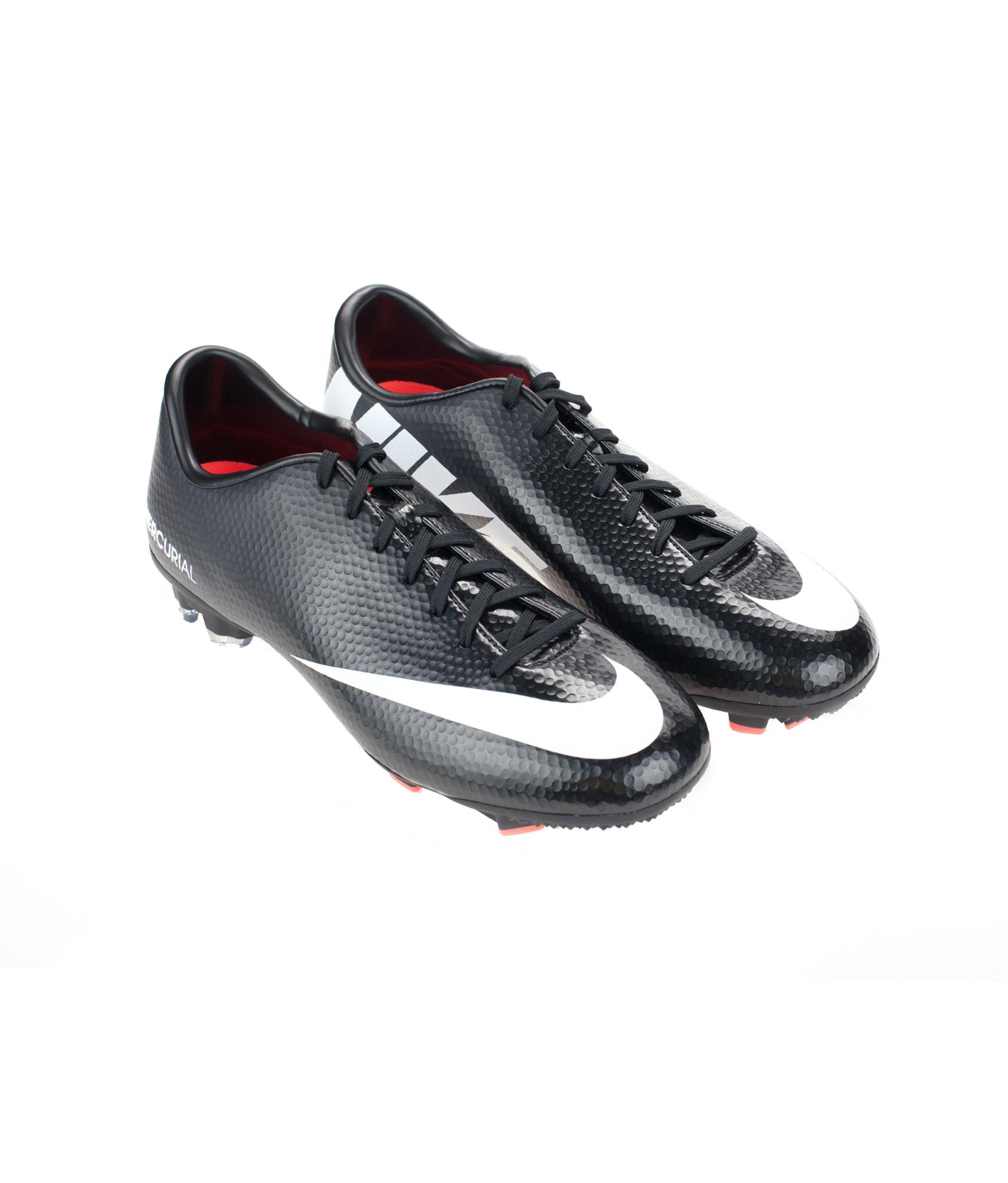 Бутсы Nike MERCURIAL VICTORY IV FG, Цвет-Черный, Размер-9.5