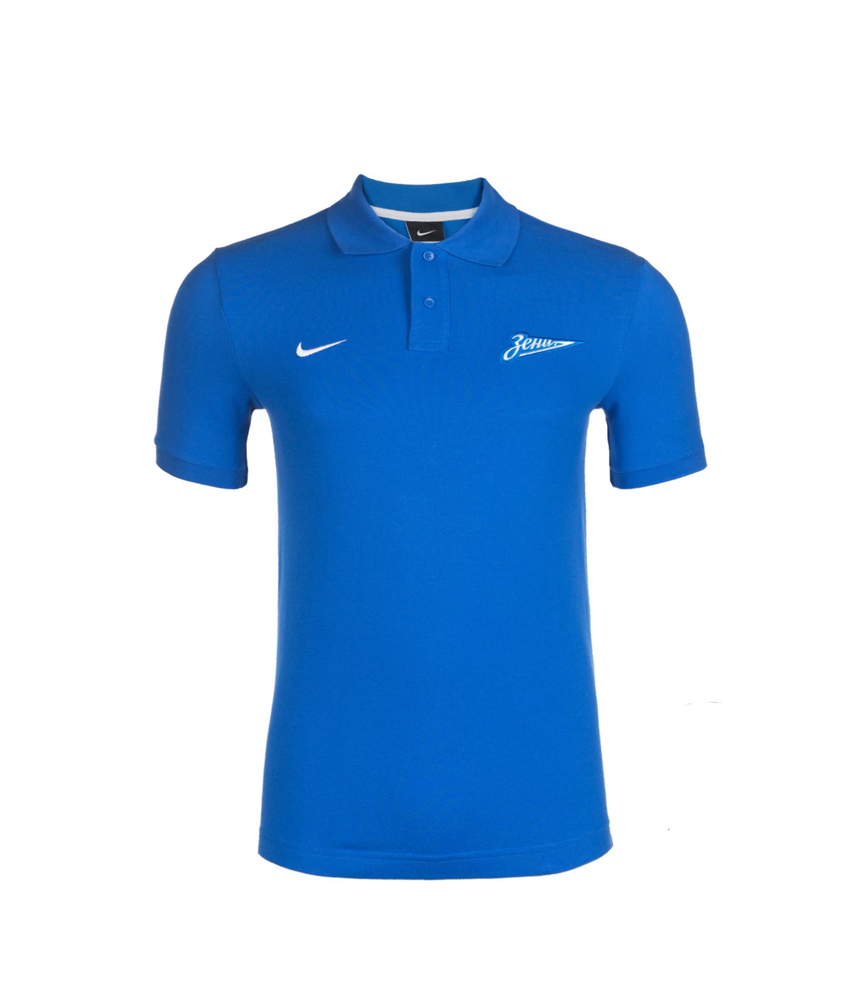 Поло Nike GS Generic Auth, Цвет-Синий, Размер-XXL