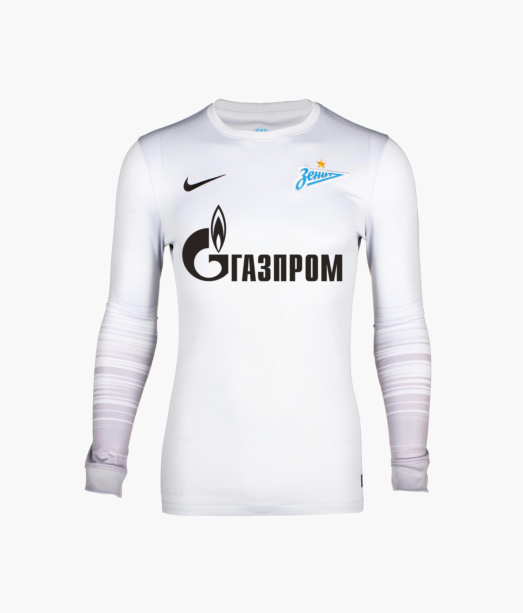 Оригинальная выездная футболка Nike с длинным рукавом Nike Цвет-Серый игровая выездная футболка цвет белый размер l