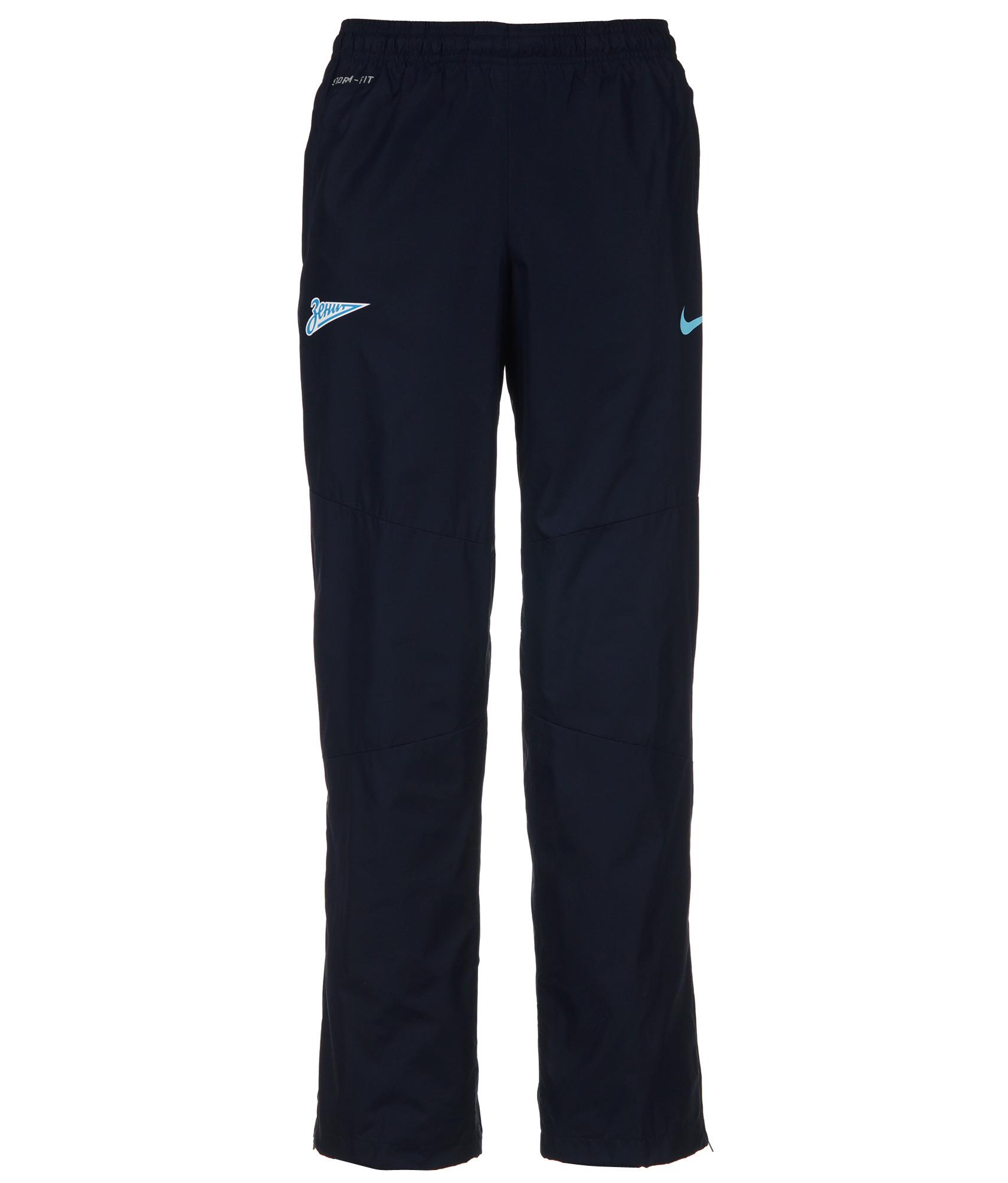 Брюки ветрозащитные Nike , Цвет-Синий, Размер-S redfox брки ветрозащитные lilo детские 92 9381 рко синий океан