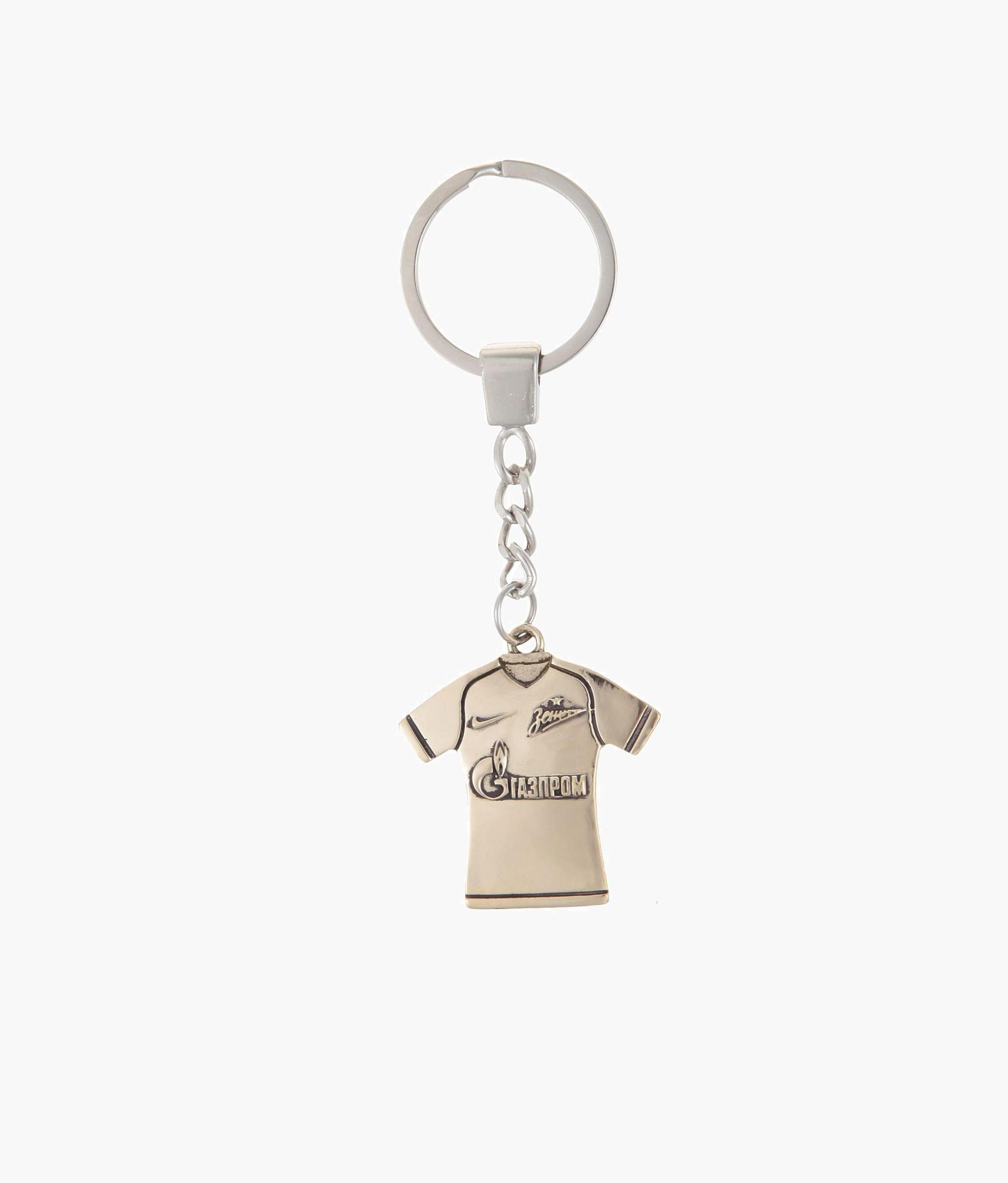 Брелок «Игровая футболка» бронза Зенит брелок забивака зенит