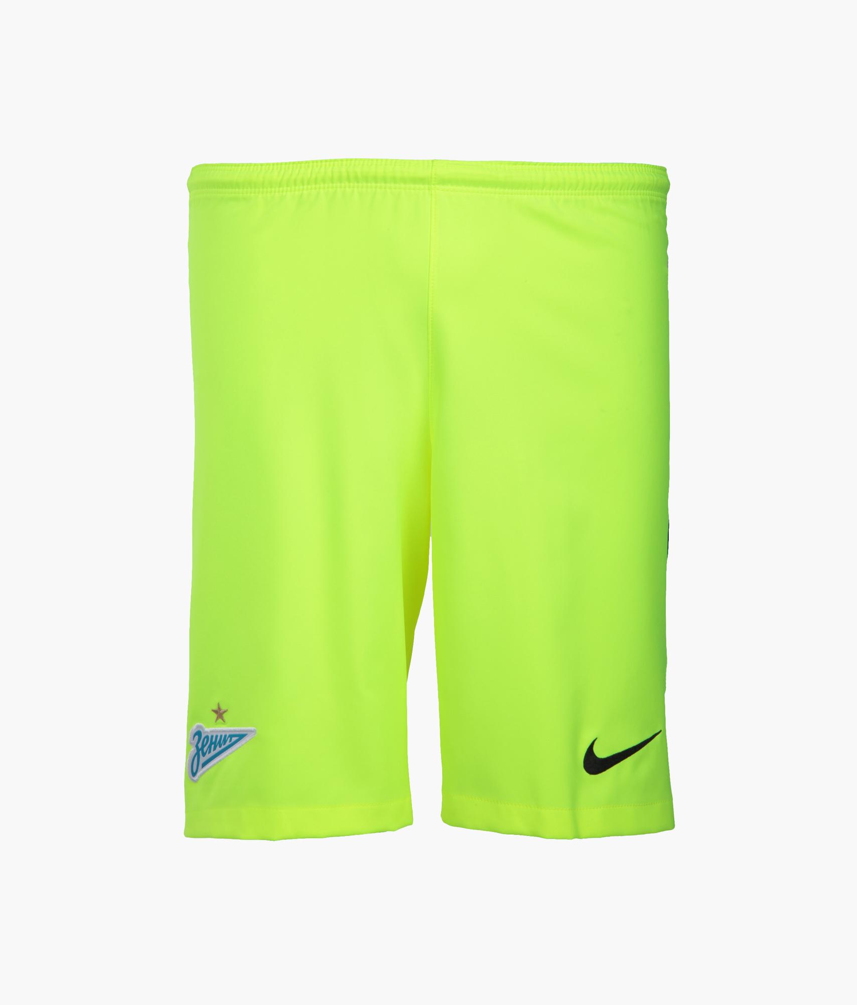 Оригинальные вратарские шорты Nike Nike Цвет-Желтый цена 2017