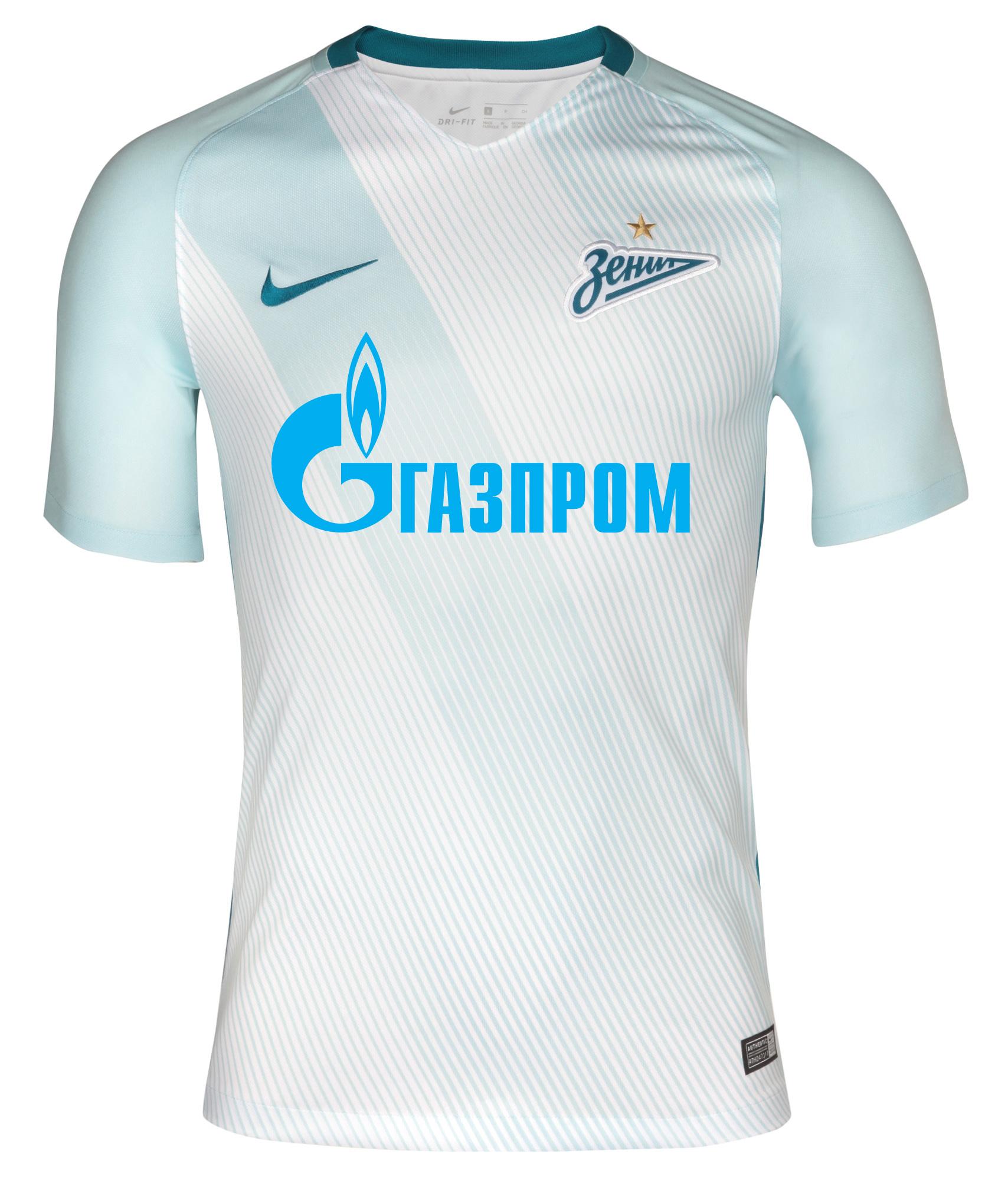 Игровая выездная футболка Nike Цвет-Белый футболка quiksilver skybreakcrew real teal heather