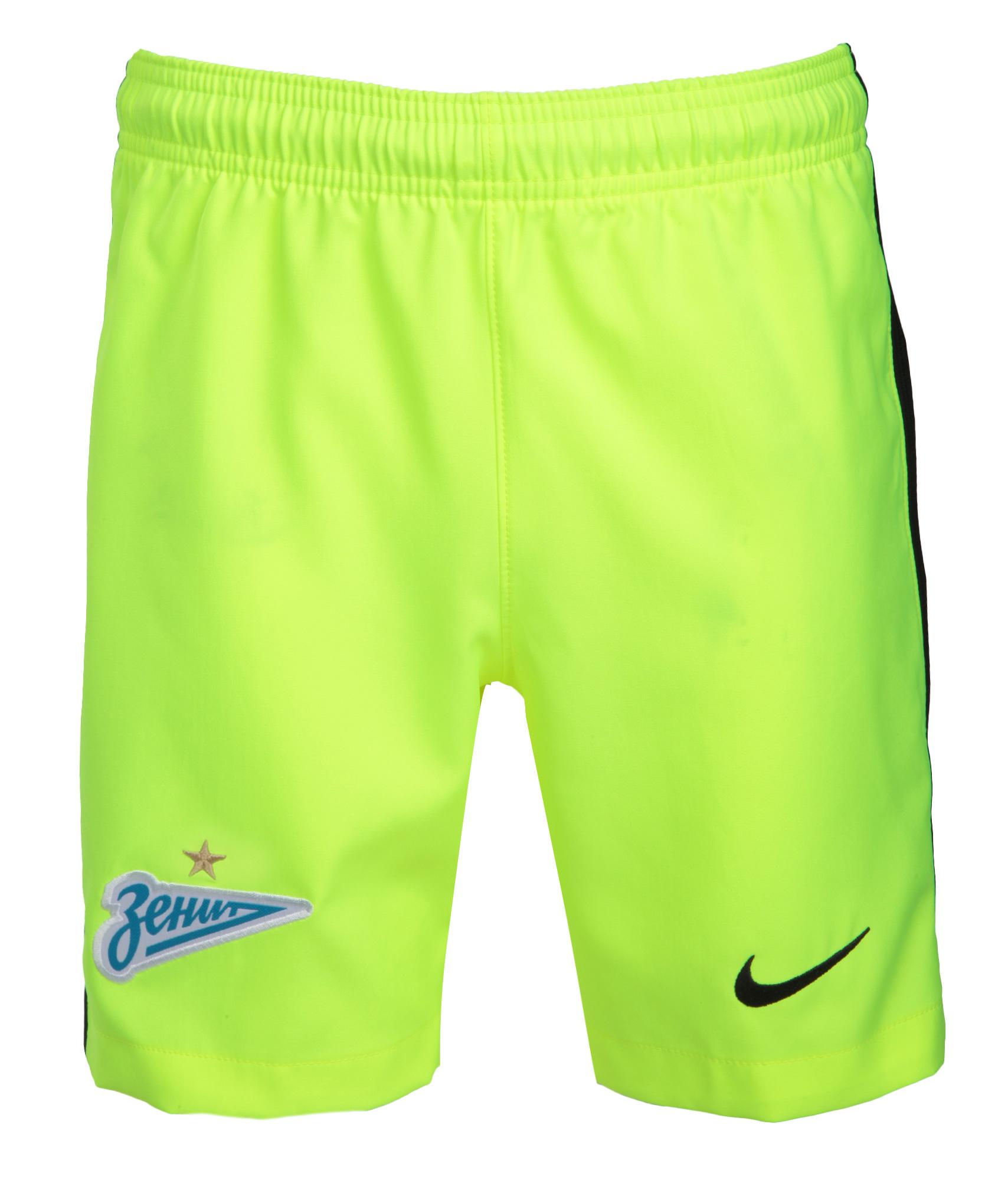 Детские вратарские шорты Nike  Цвет-Желтый