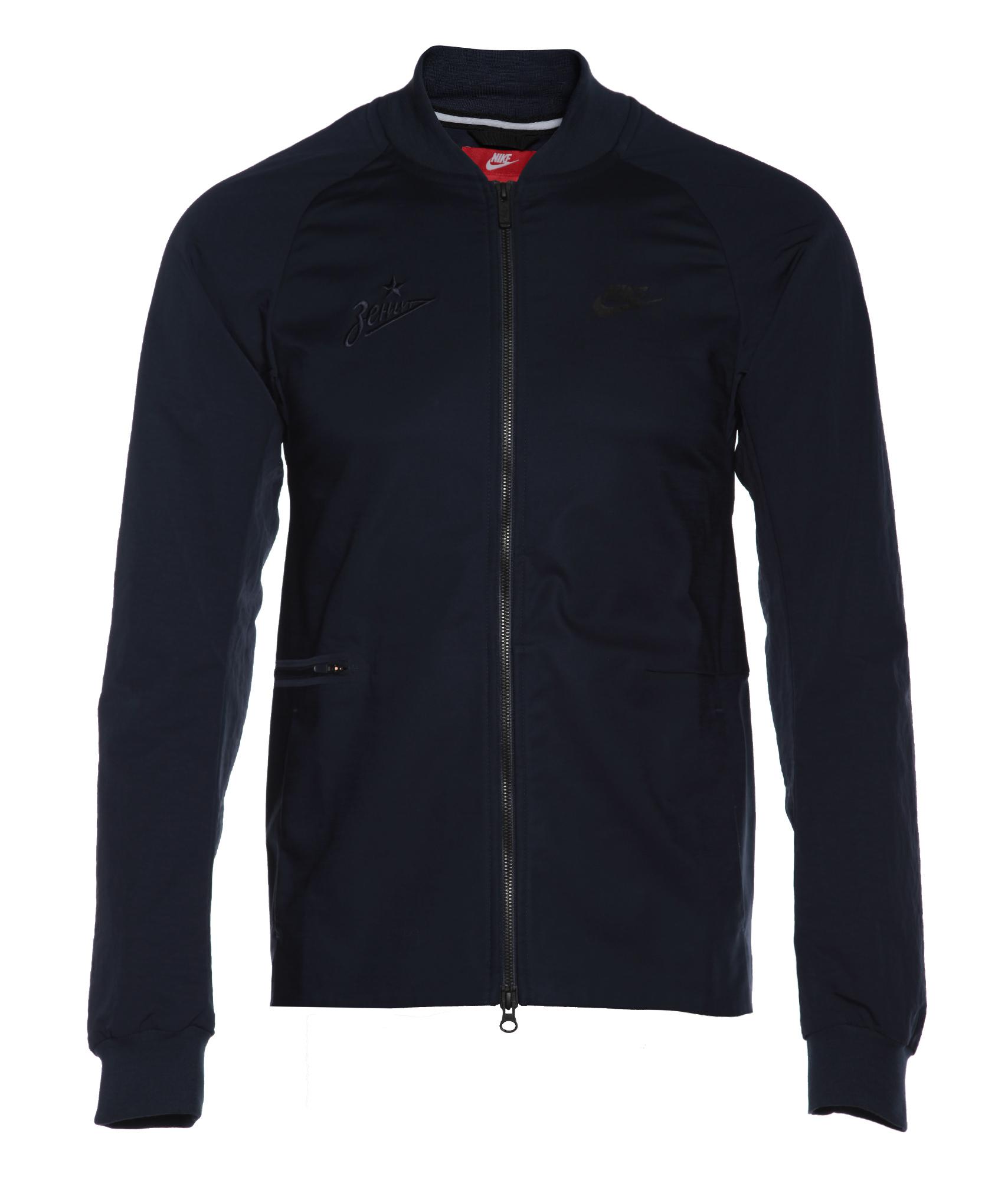 Куртка Nike, Цвет-Темно-Синий, Размер-M поло nike цвет голубой размер m