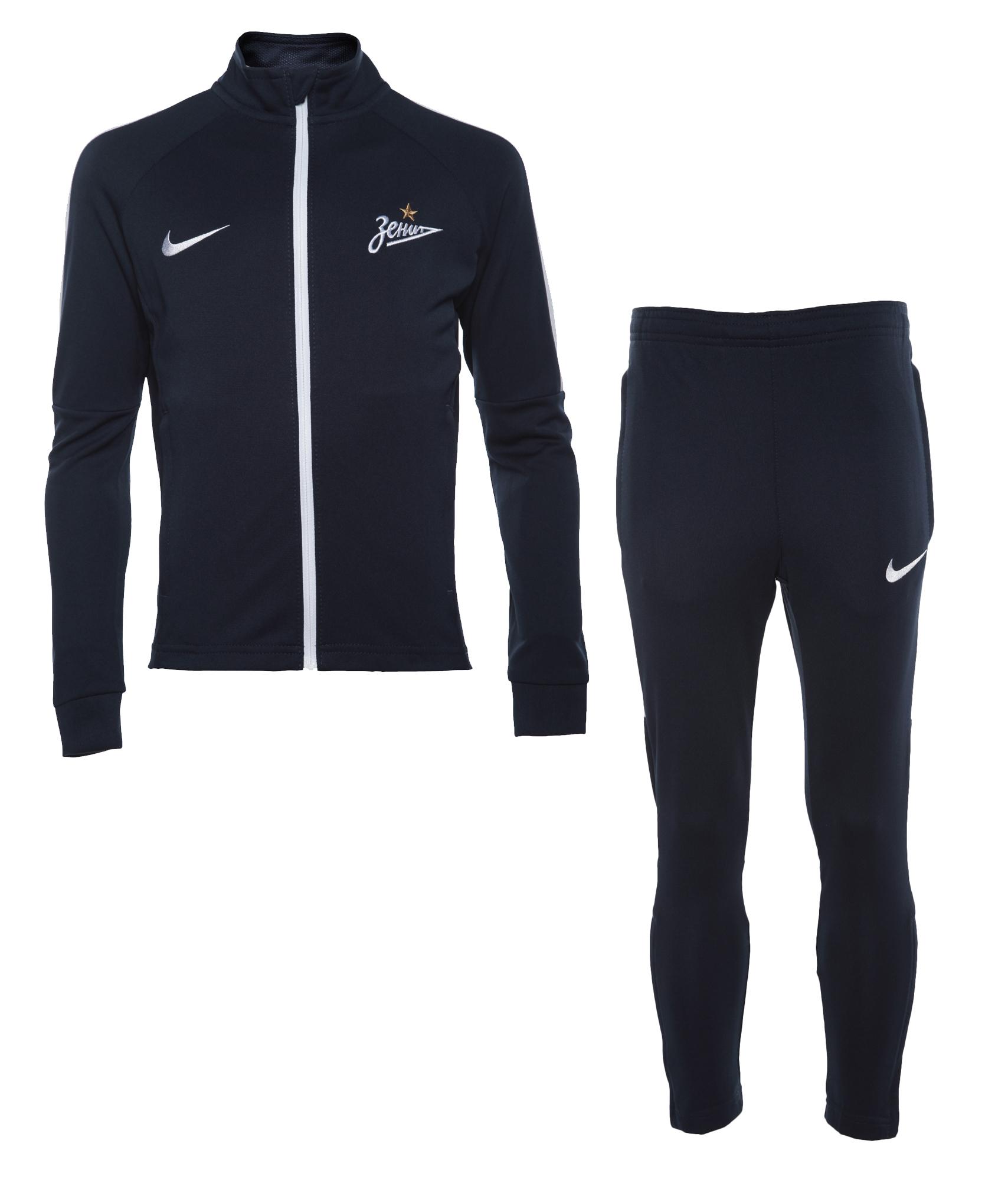 Подростковый спортивный костюм Nike Nike Цвет-Темно-Синий