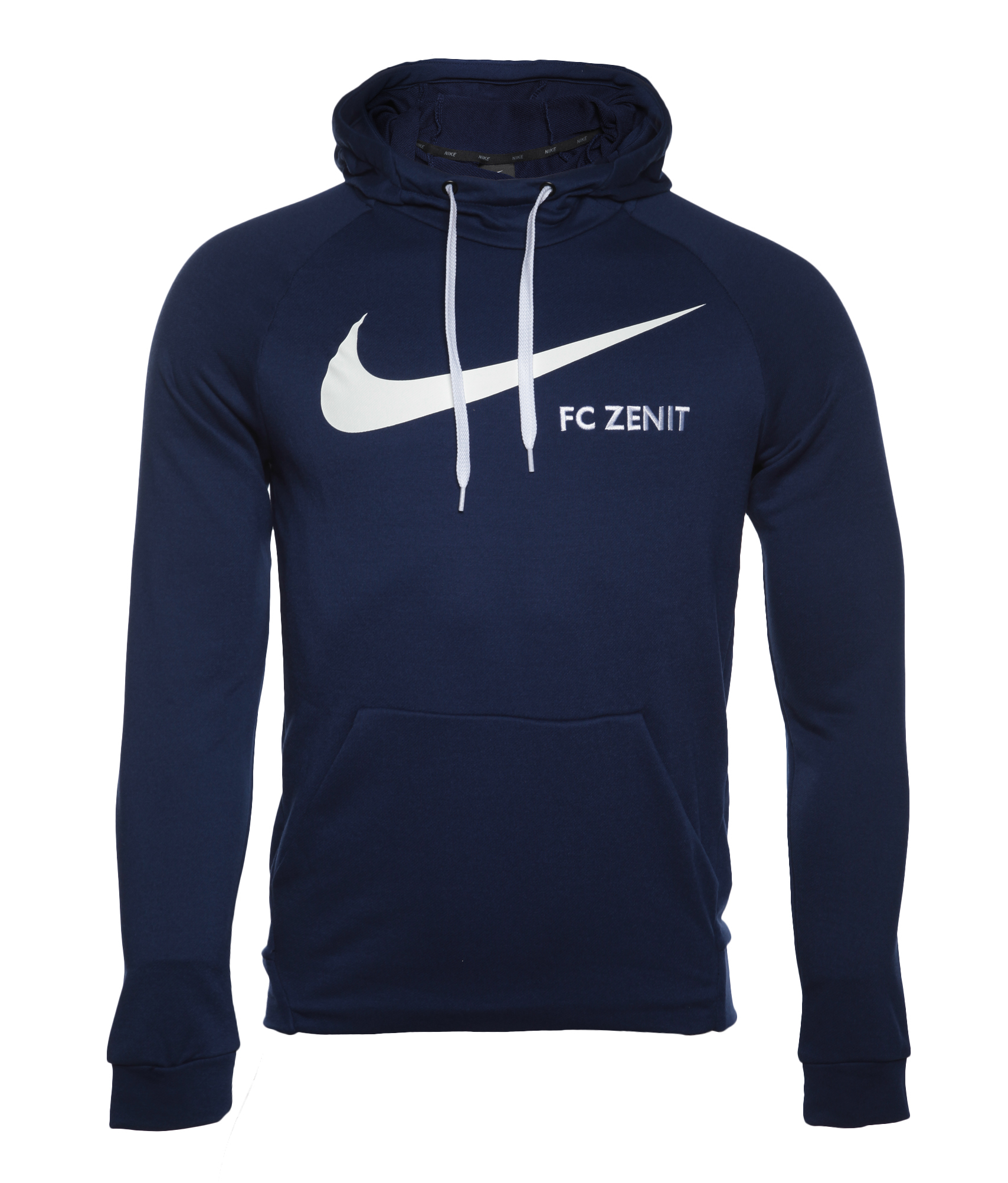 Толстовка тренировочная Nike, Цвет-Темно-Синий, Размер-L худи nike худи m nk dry hoodie po swoosh