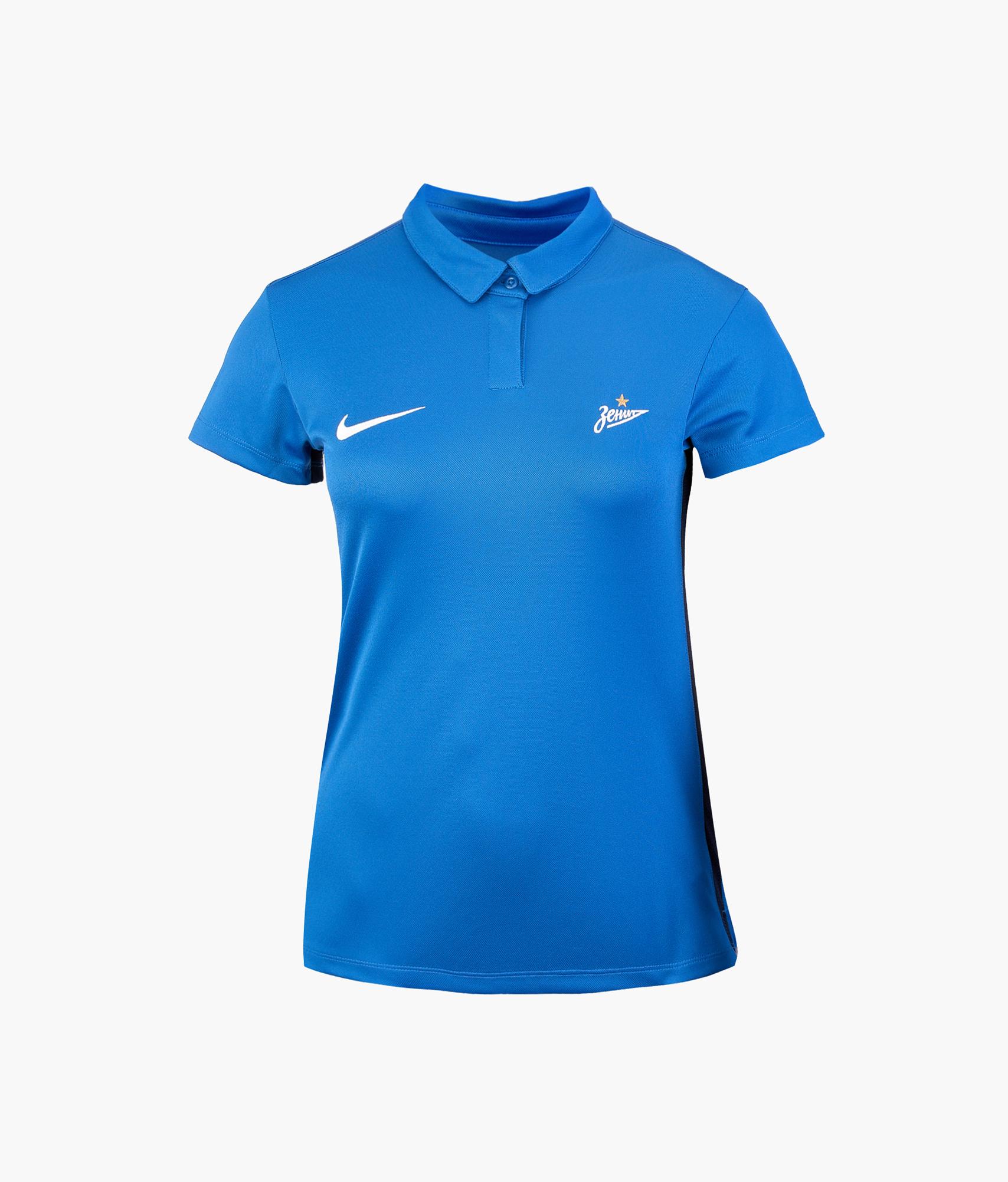 Поло женское Nike Nike Цвет-Синий