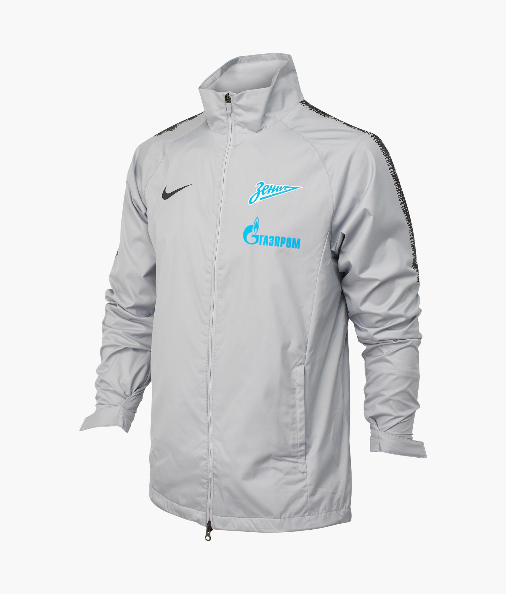 Ветрозащитная куртка Nike Zenit 2018/19 Nike Цвет-Серый