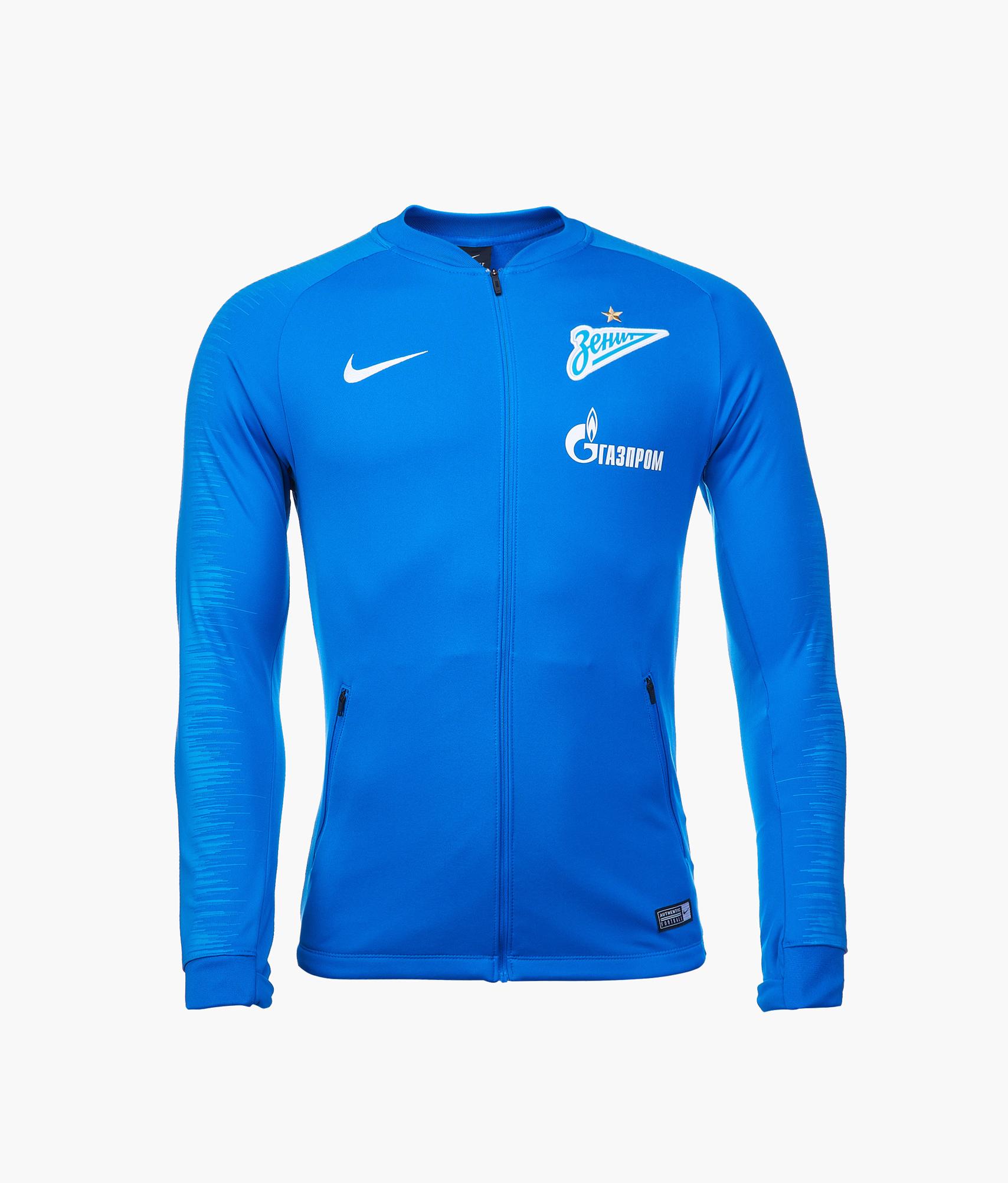 d9db5724 Олимпийка Nike Zenit сезона 2018/19 920067-466 купить за 5 999 руб в  интернет магазине ФК Зенит