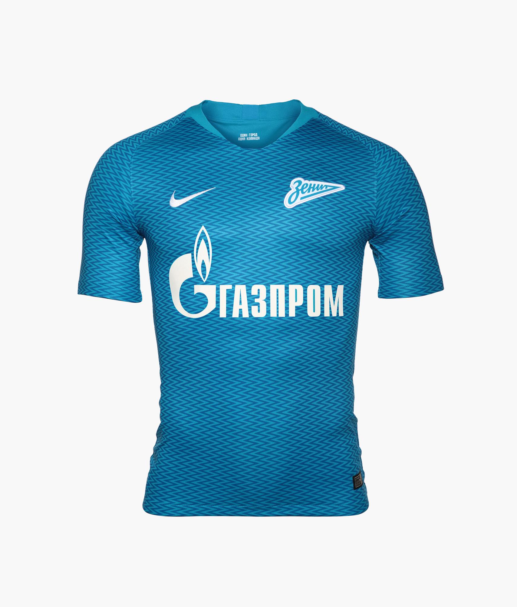 Оригинальная домашняя футболка Nike сезона 2018/2019 Зенит оригинальная домашняя футболка nike фк зенит 2019 20
