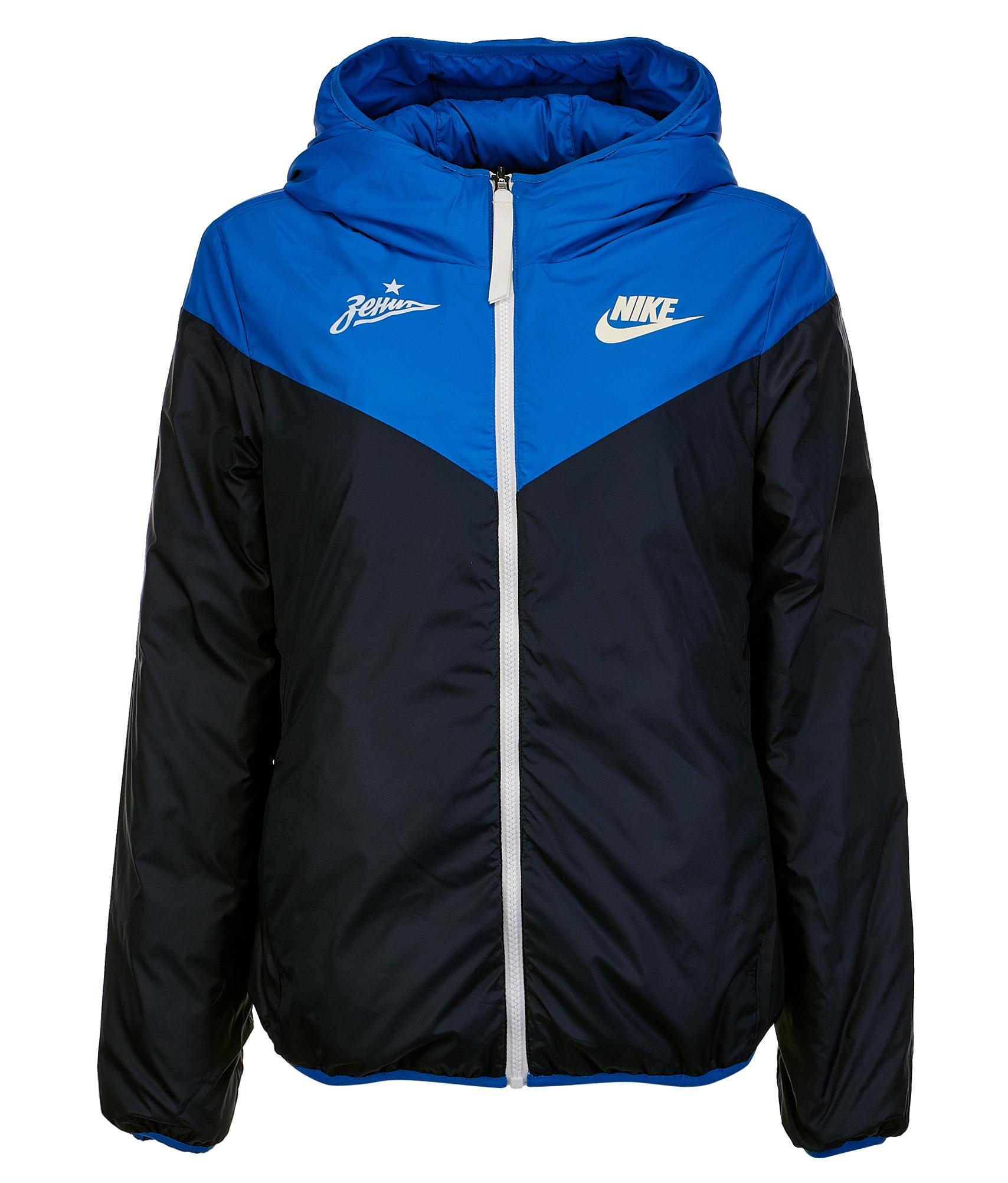 Пуховик двухсторонний женский Nike Nike Цвет-Голубой