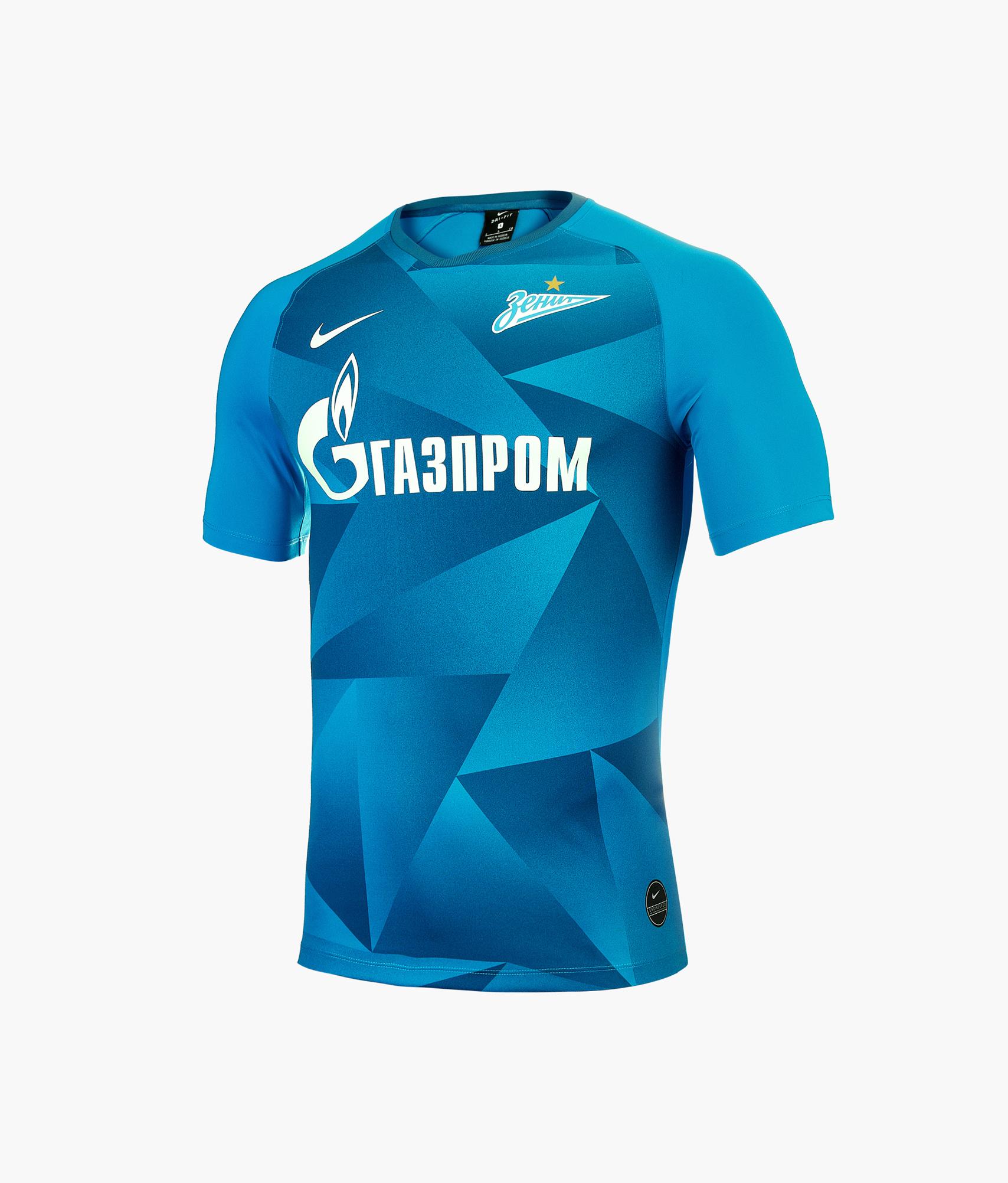 Реплика домашней игровой футболки 2019/2020 Nike Цвет-Синий реплика выездной игровой футболки nike 2018 19 nike цвет белый