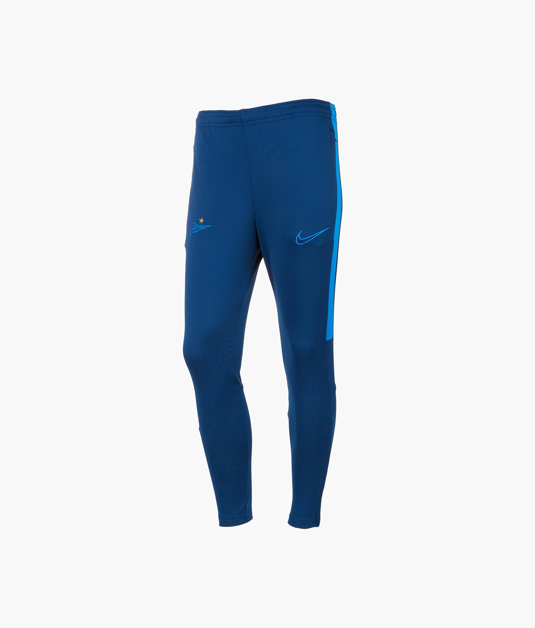 Брюки тренировочные подростковые Nike Nike Цвет-Синий брюки тренировочные nike сборной бразилии 893122 454