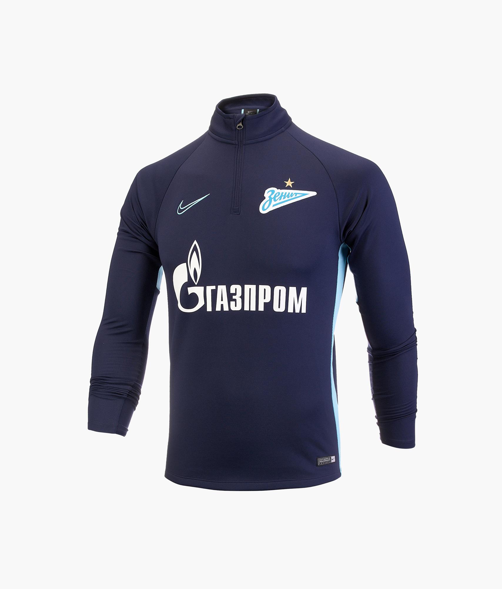 Джемпер тренировочный Nike Zenit 2019/20 Nike Цвет-Темно-Синий