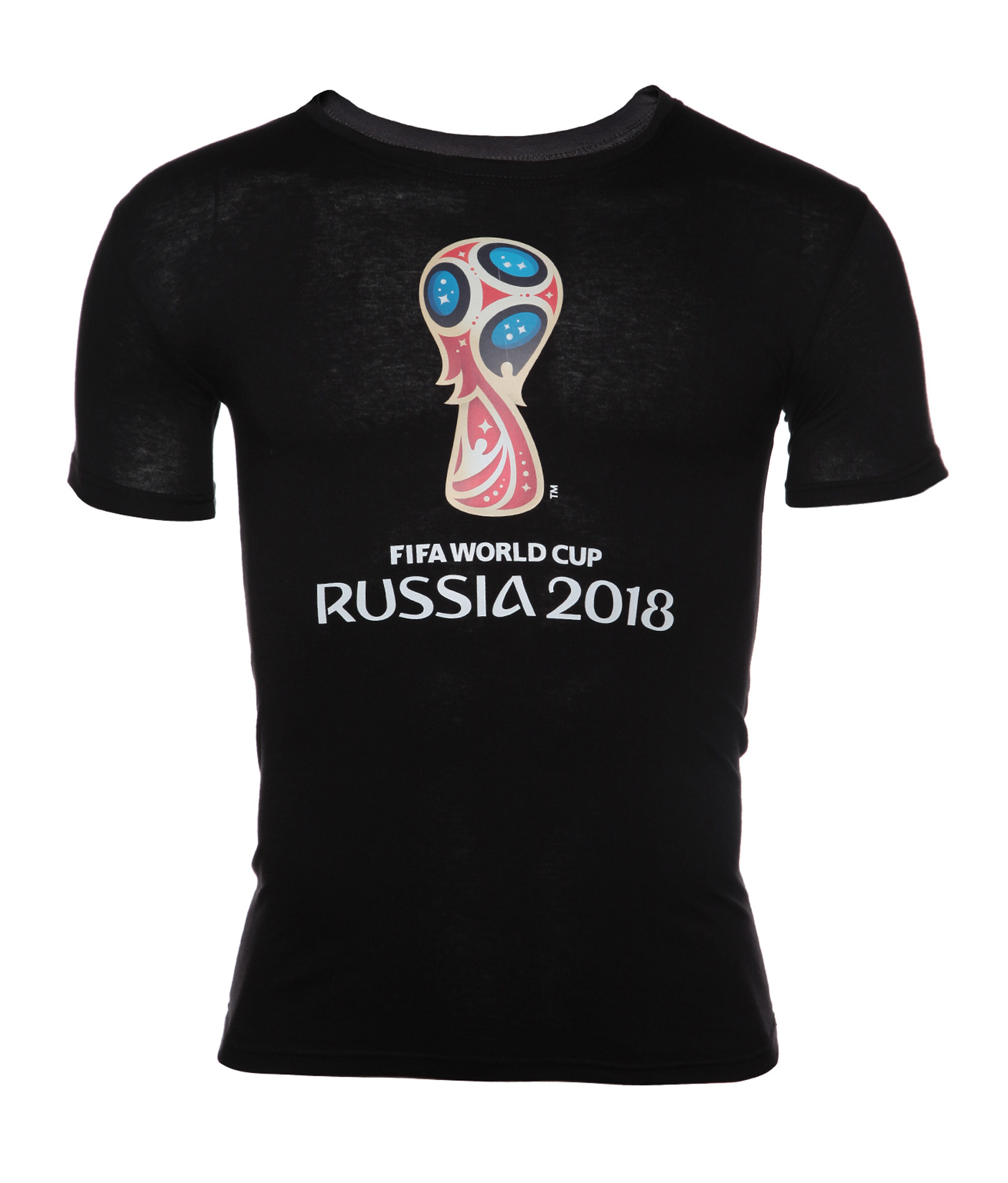 Футболка мужская «Эмблема Чемпионата мира-2018» Зенит Цвет-Черный значок закатной эмблема чемпионата мира 2018 зенит