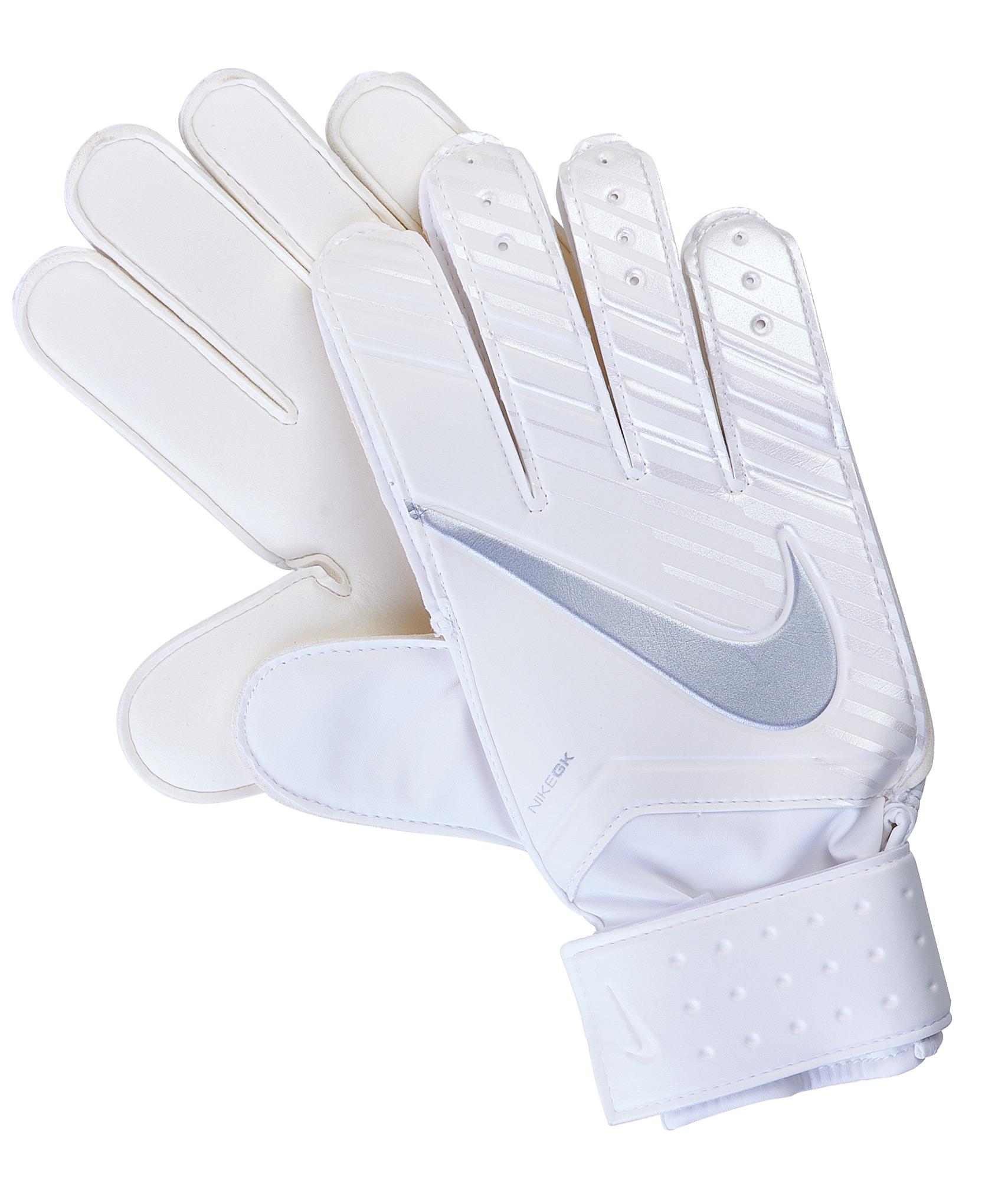 Перчатки вратарские Nike Nike Цвет-Белый