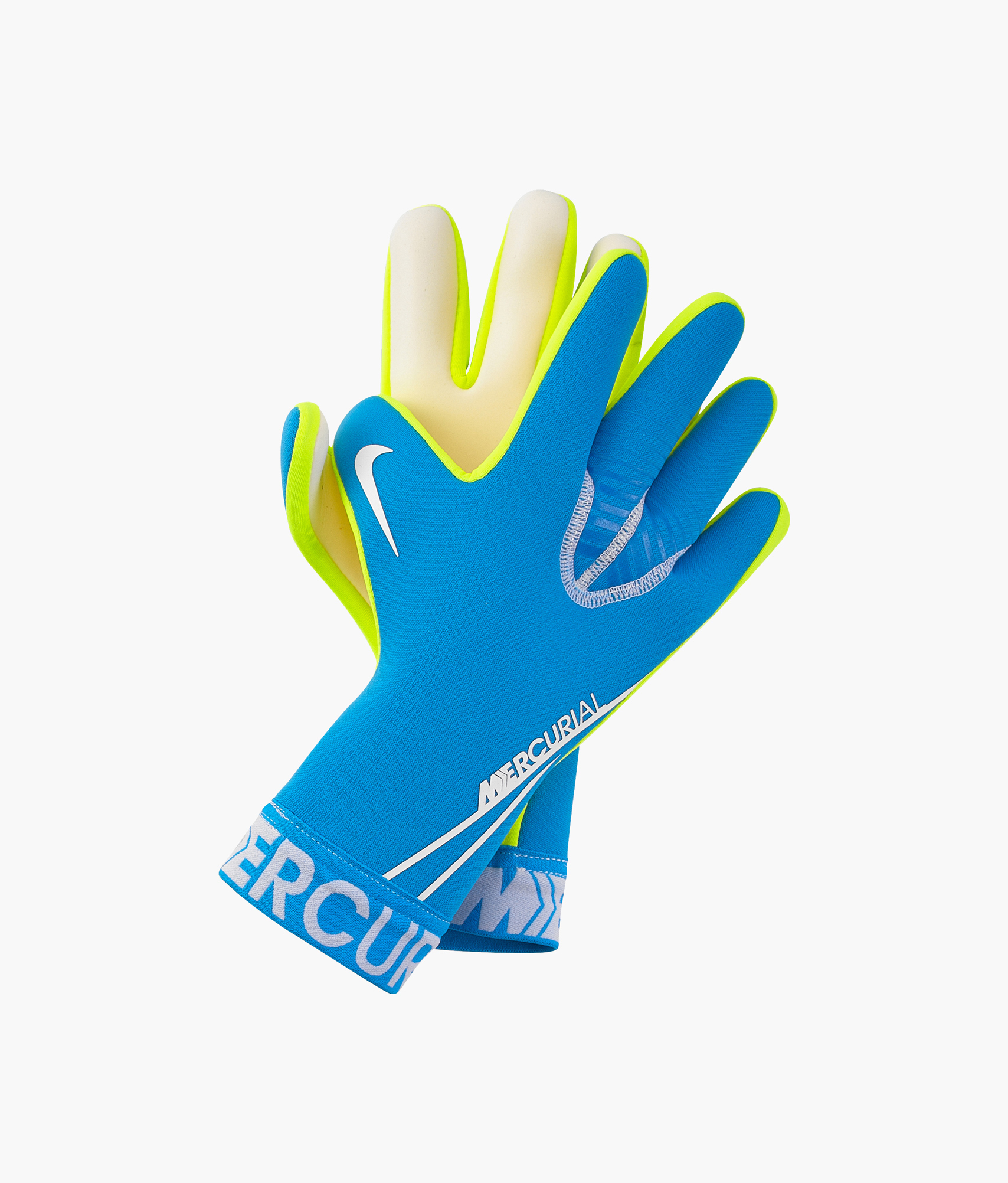 Перчатки вратарские Nike Nike Цвет-Голубой сланцы nike nike ni464amfbf61