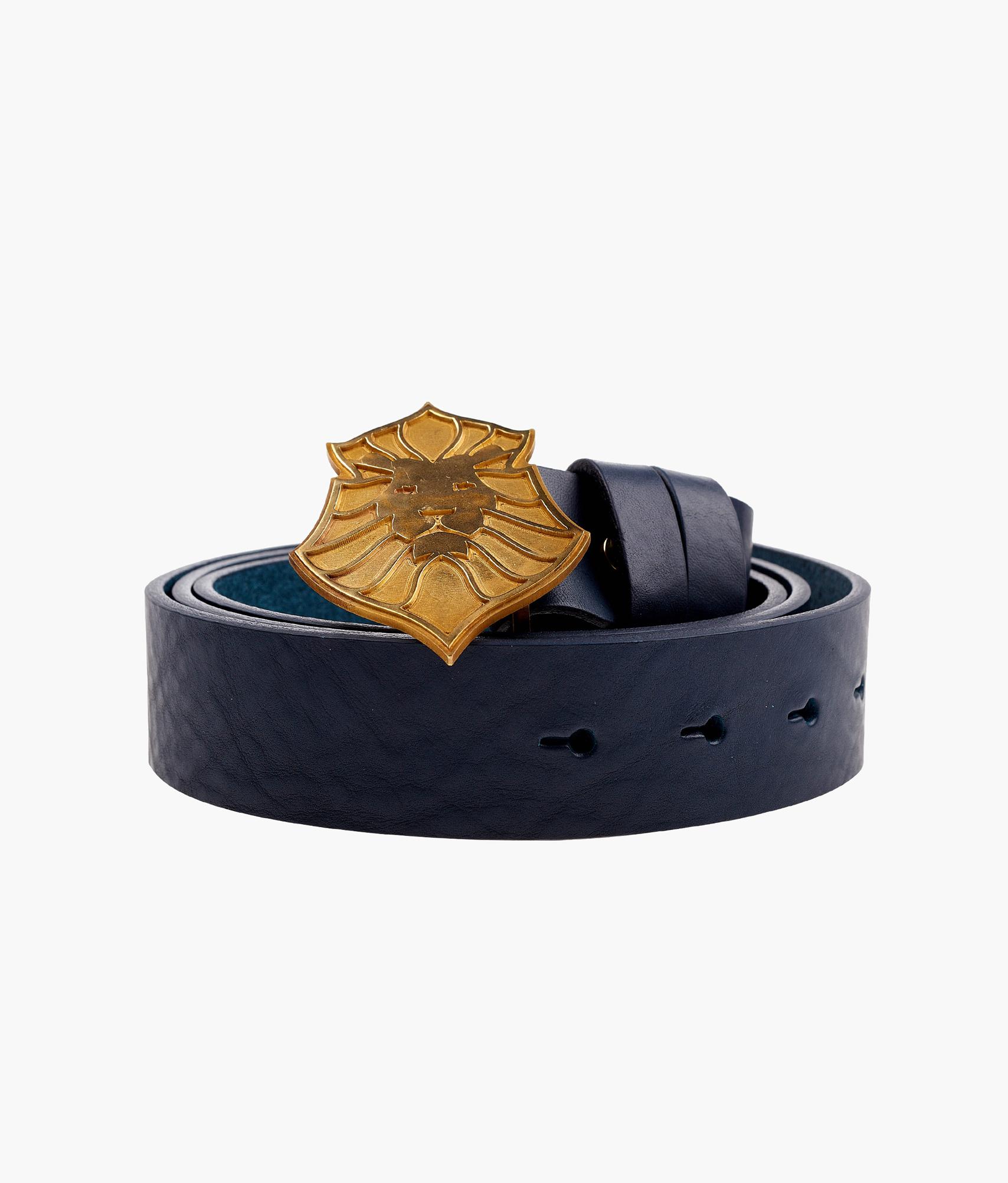 Мужской кожаный ремень Lion Line Зенит