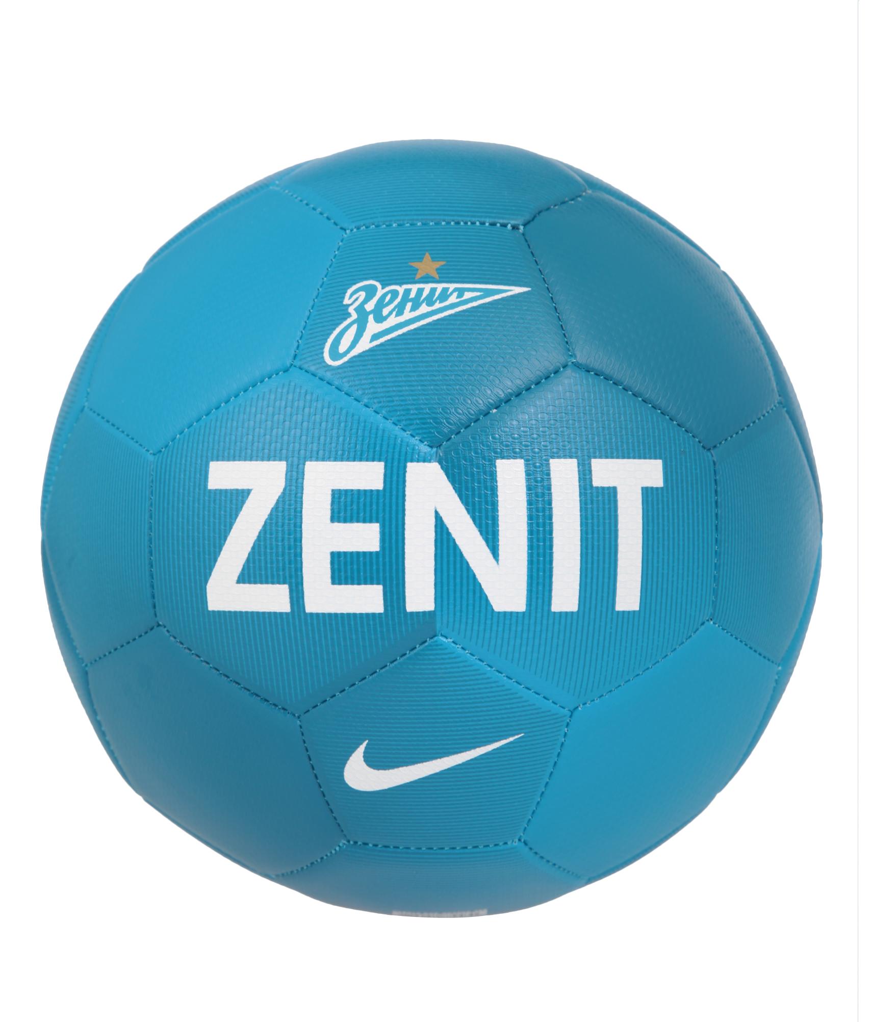 Мяч NIKE PRESTIGE-ZENIT, Цвет-Голубой, Размер-3 поло nike цвет голубой размер m