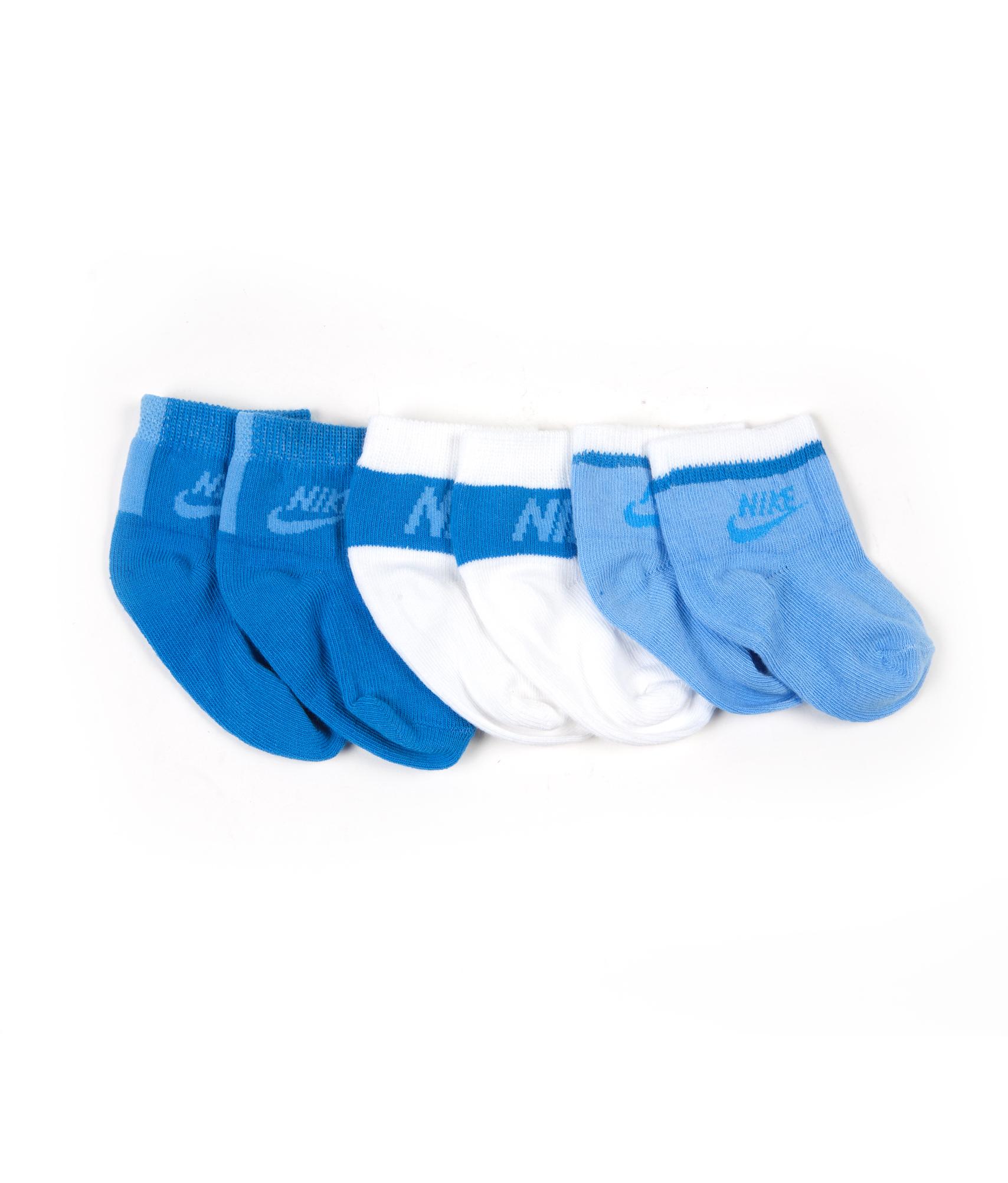 Носки детские, Цвет-Сине-Бело-Голубой, Размер-M