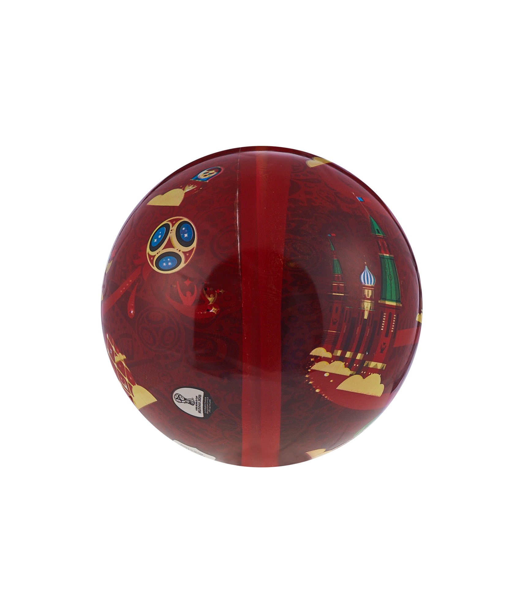 Мяч Забивака 23 см Зенит Цвет-Красный брелок забивака зенит