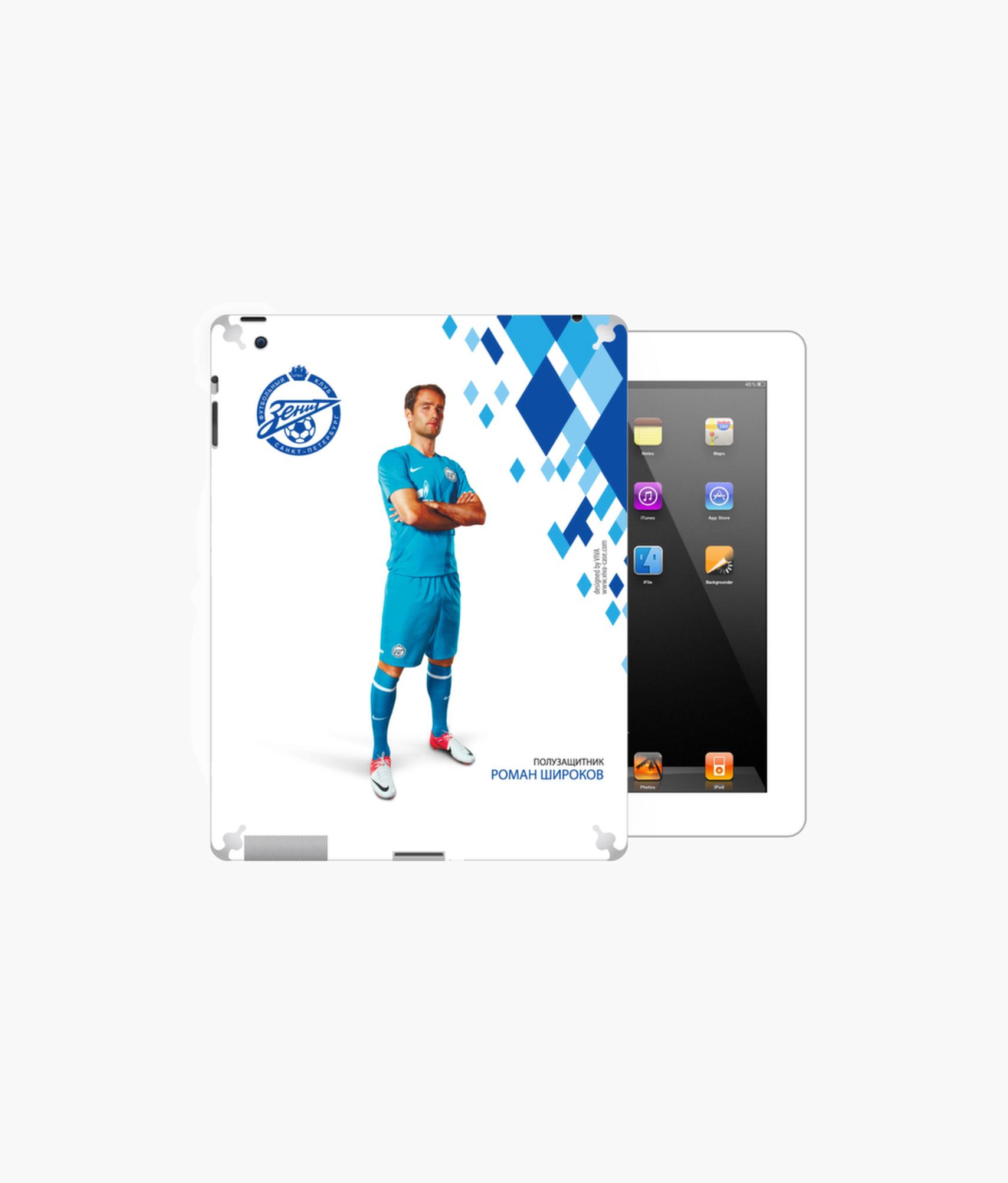 Фото - Наклейка на iPad/2/3/4 «Широков» Зенит планшет