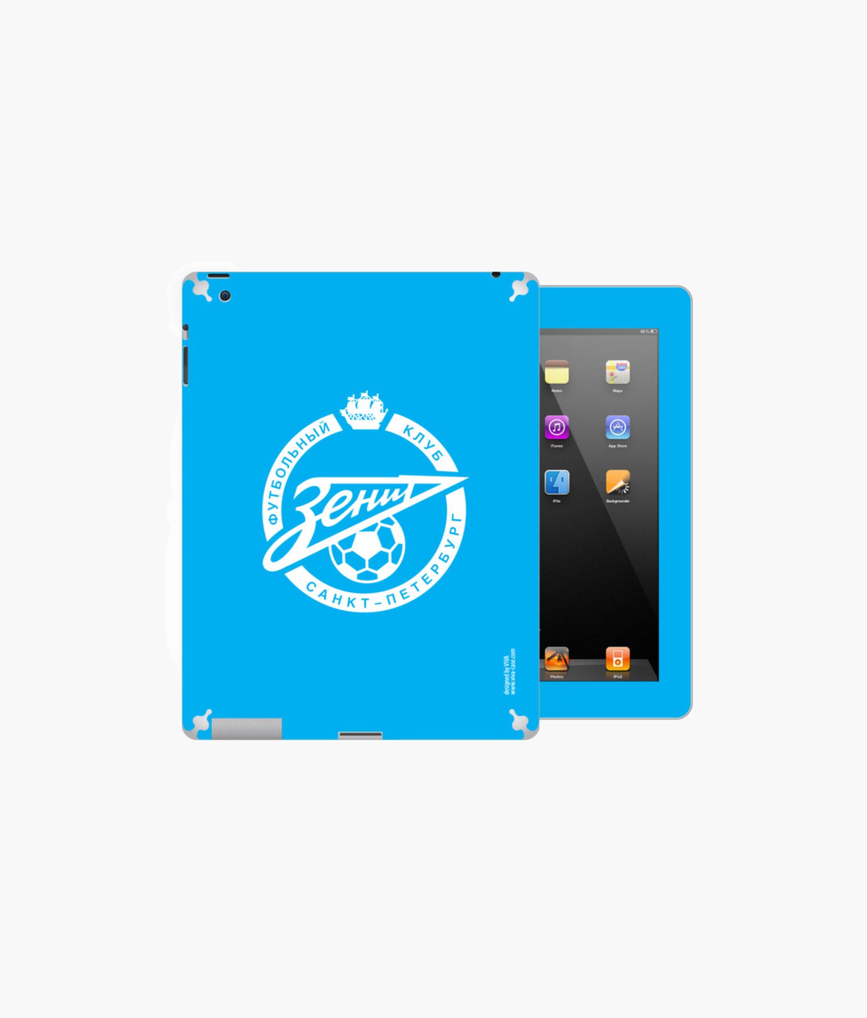 Фото - Наклейка на iPad/2/3/4 «Лого» Зенит наклейка