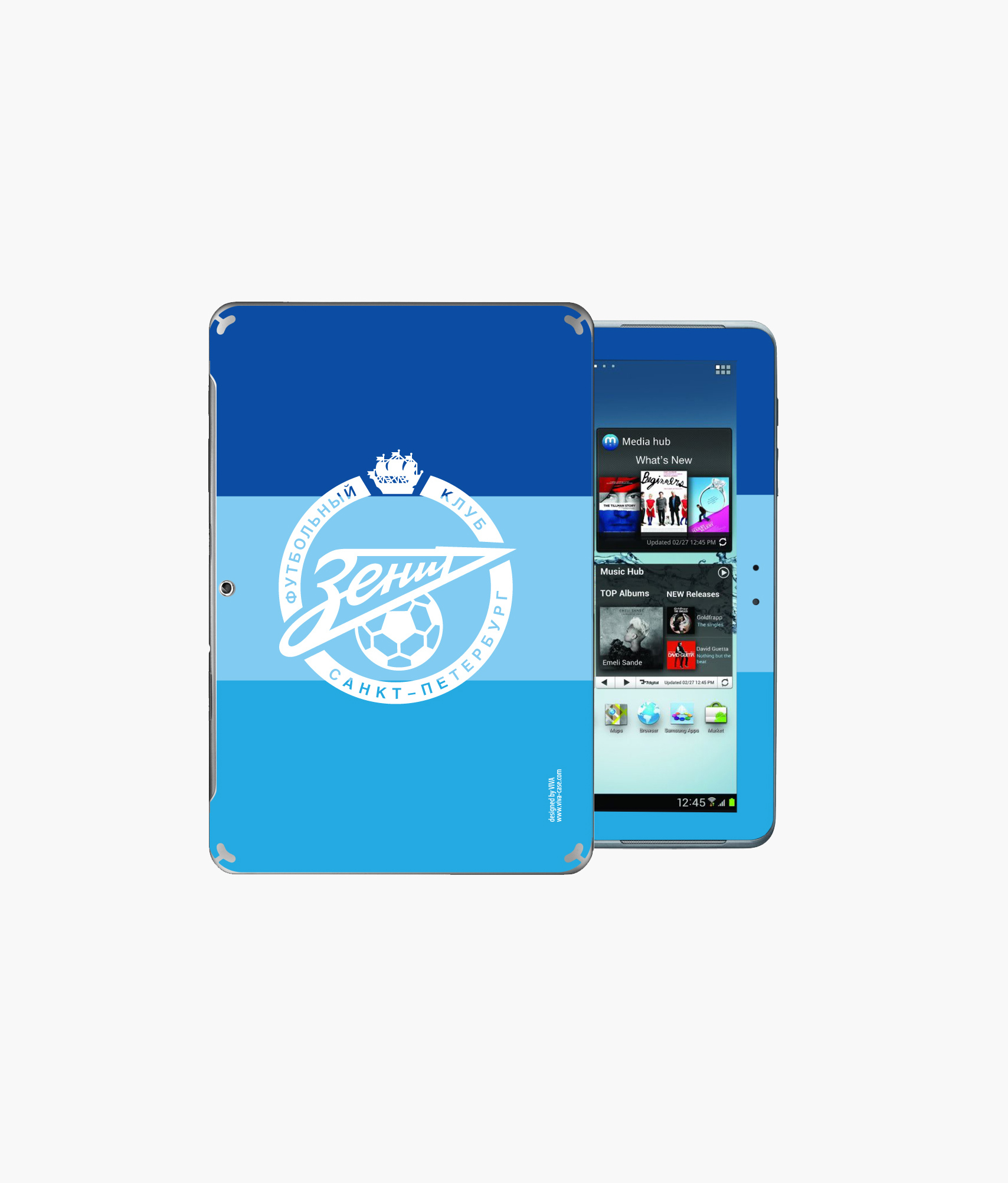 Фото - Наклейка на GalaxyTab2 «Лого» Зенит наклейка